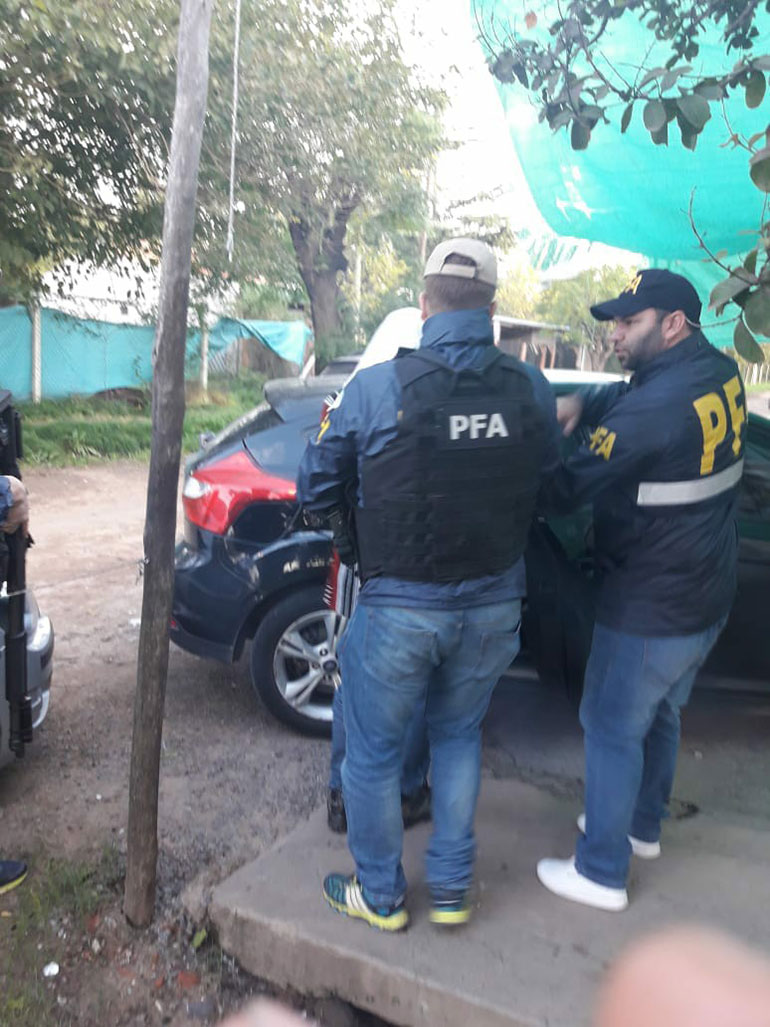 El hombre fue detenido en Moreno