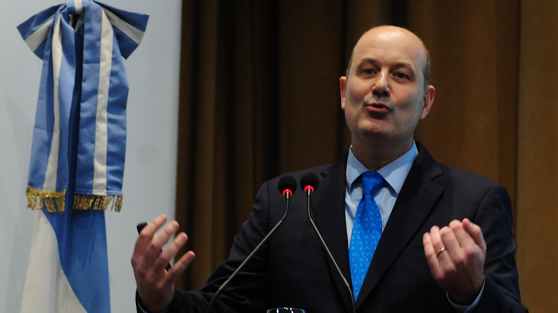 El presidente del Central presentó el Informe de Estabilidad Financiera Primer Semestre 2018 (Maximiliano Luna)
