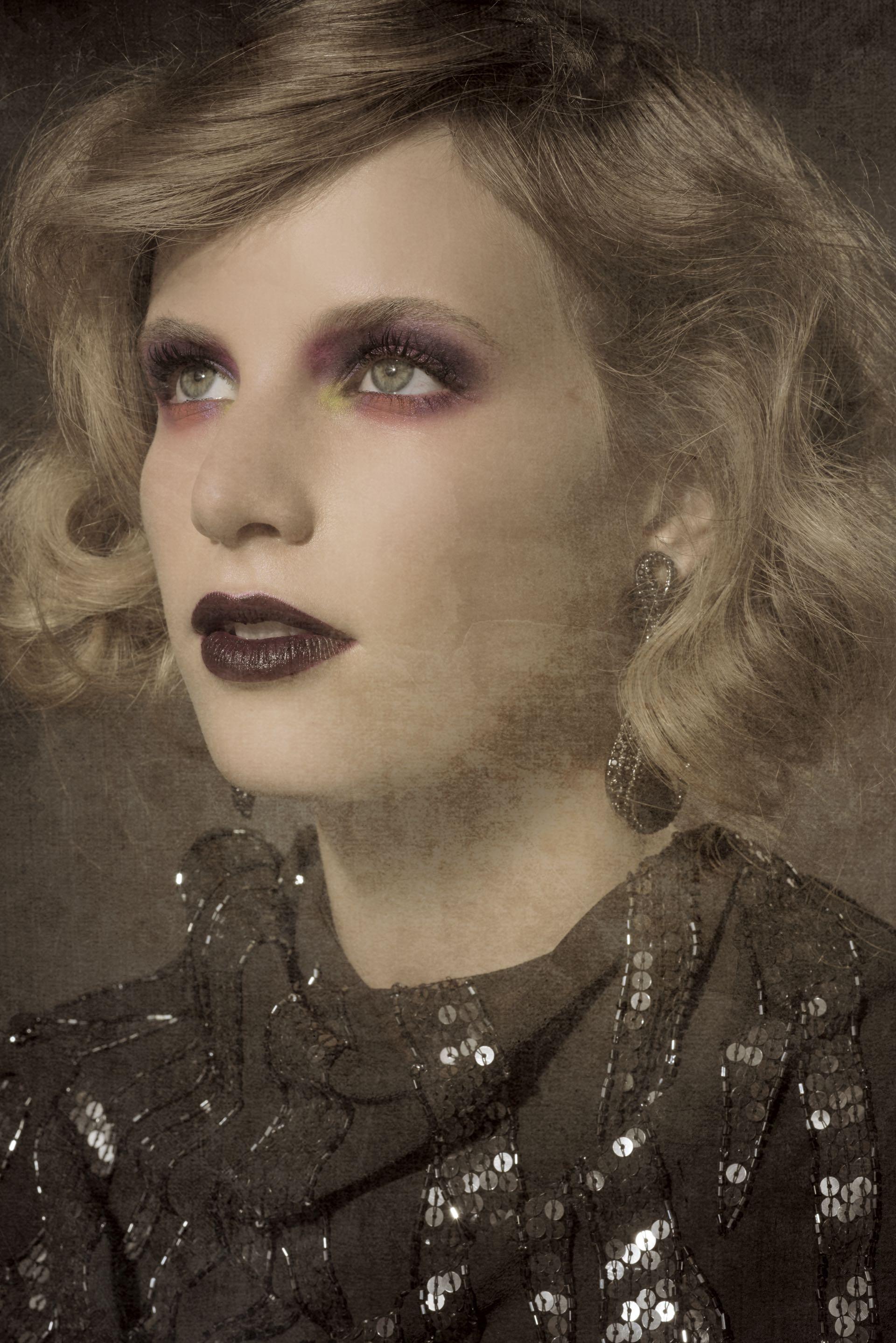 Un make up fuerte, súper efectivo para las imágenes