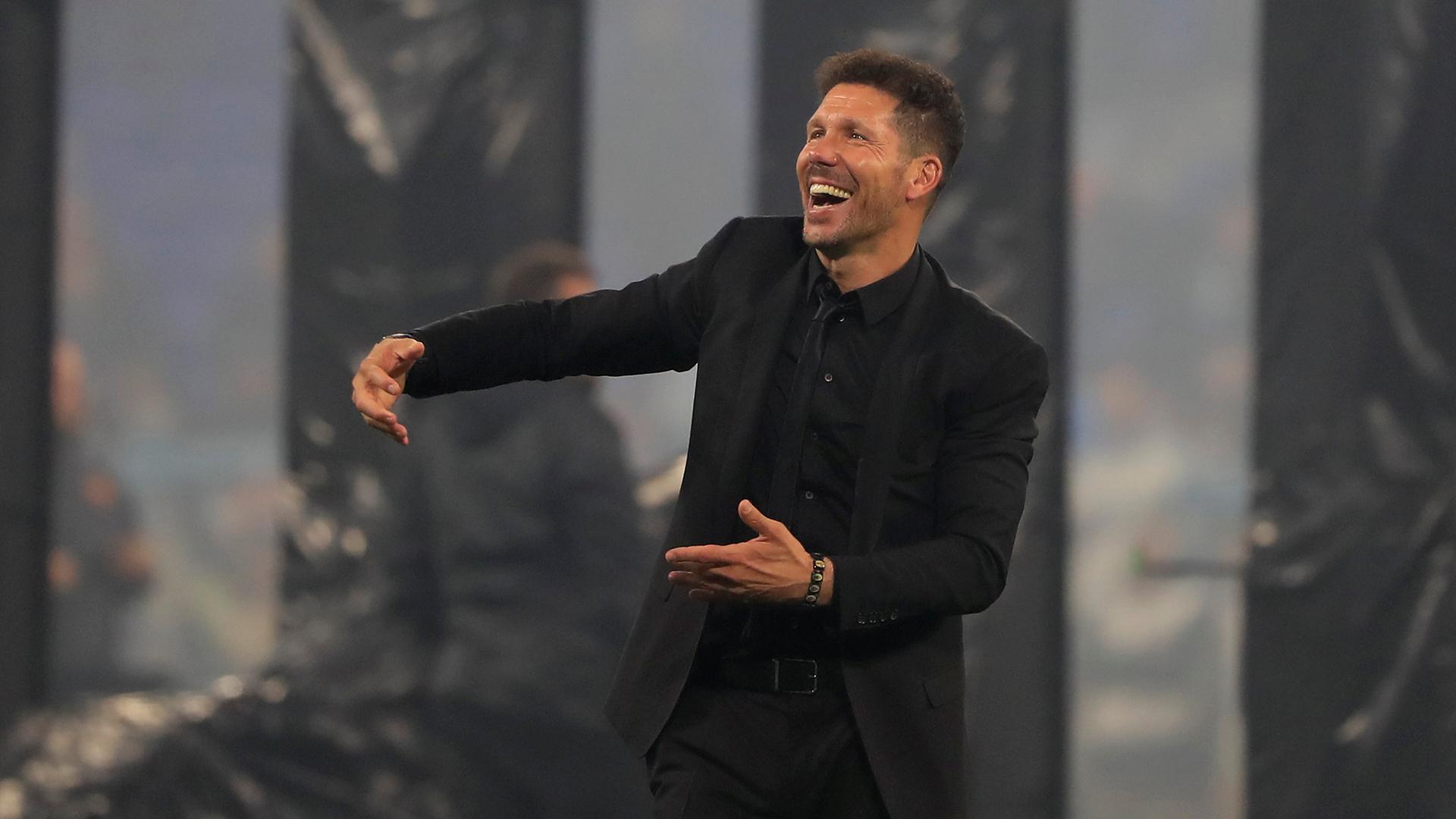 Simeone conquistó nuevamente el continente europeo con el Atlético (Reuters/Gonzalo Fuentes)