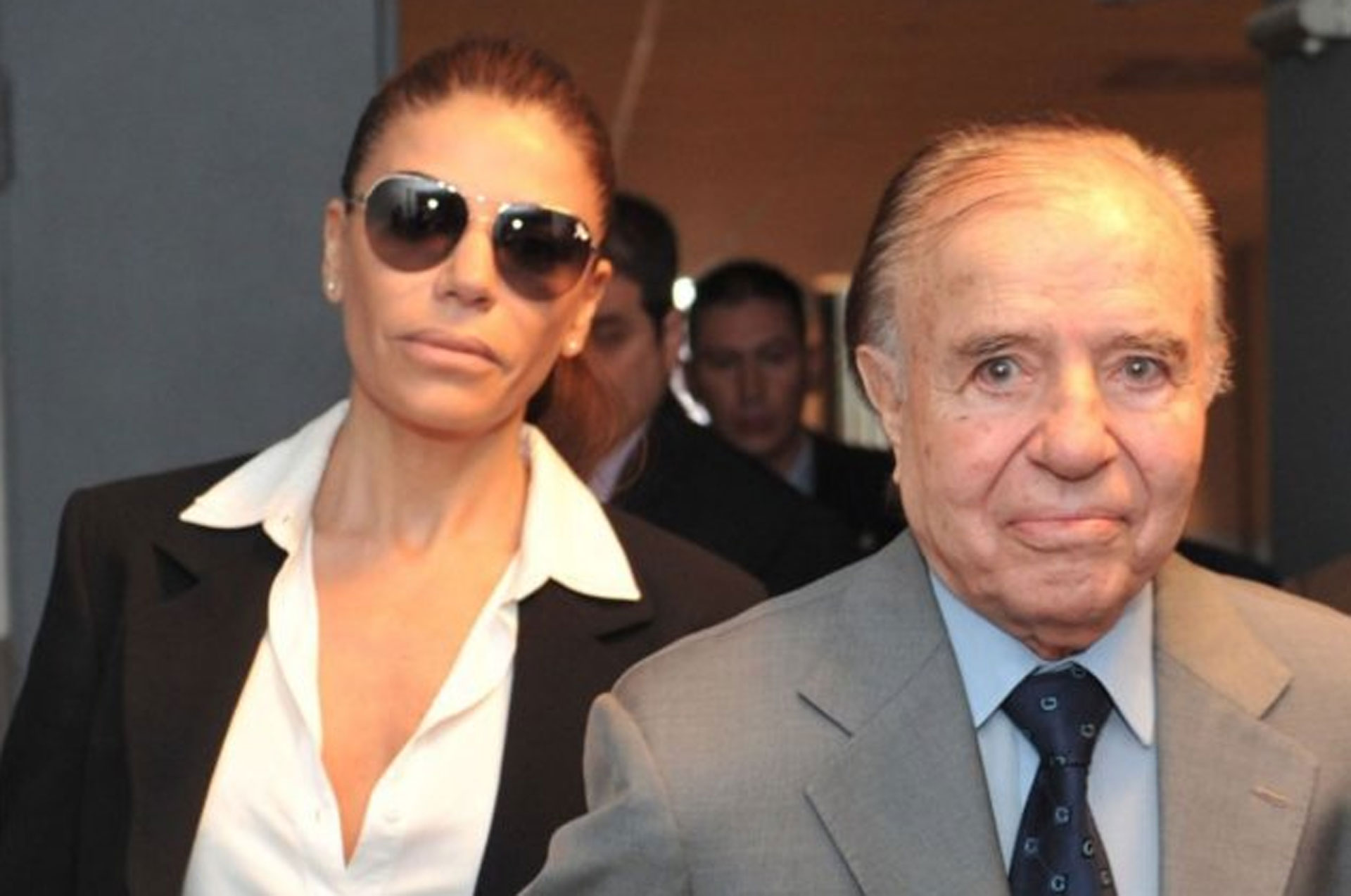 Carlos Menem defendió a Zulemita, calificó de lamentable el mensaje de Máximo y le pegó a Bolocco. (Foto: Twitter)