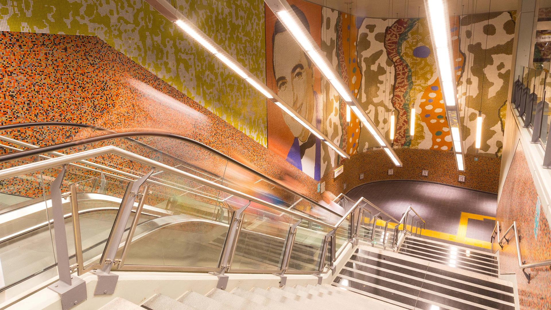La nueva estación Facultad de Derecho / Julieta Lanteri de la línea H