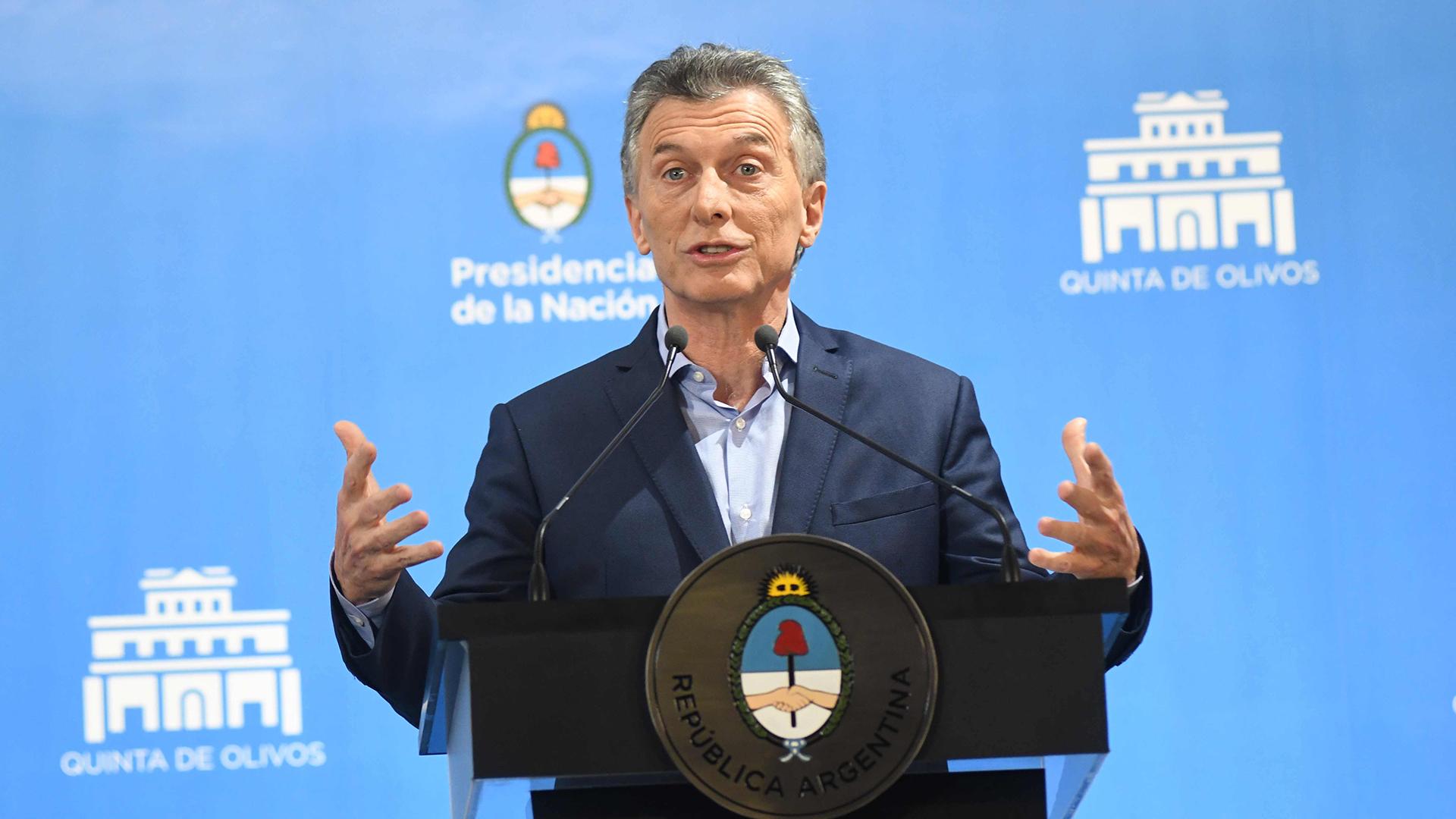 Los intelectuales criticaron la dirección económica y política del gobierno de Mauricio Macri (Fabian Ramella)