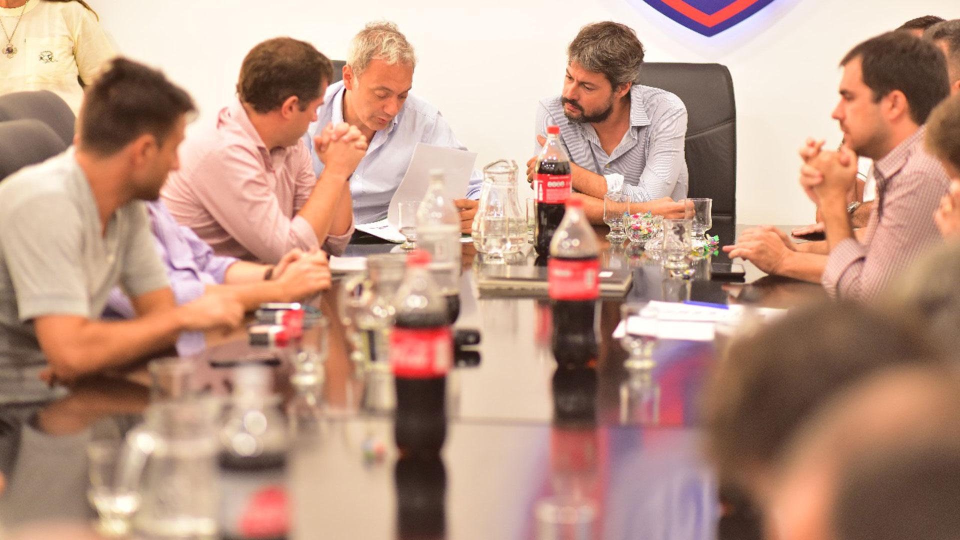 Reunión de Comisión Directiva de San Lorenzo