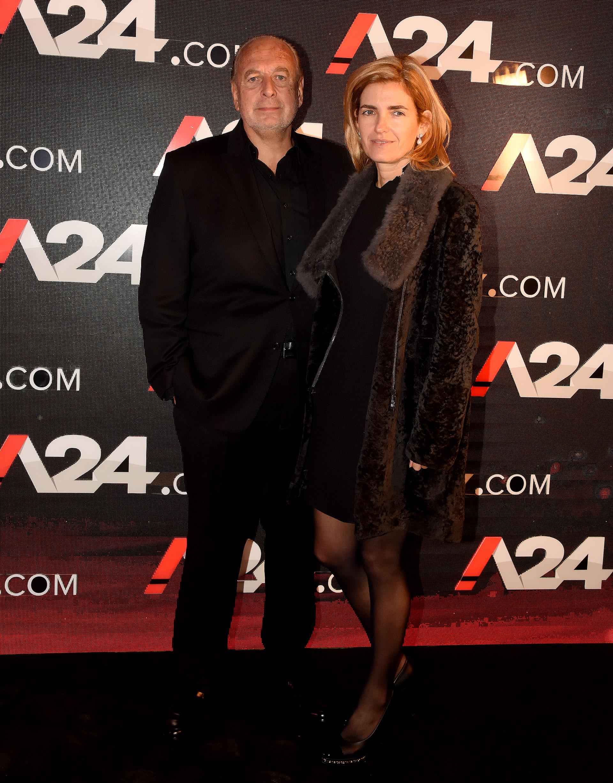 José Luis Manzano y Elena Jordan