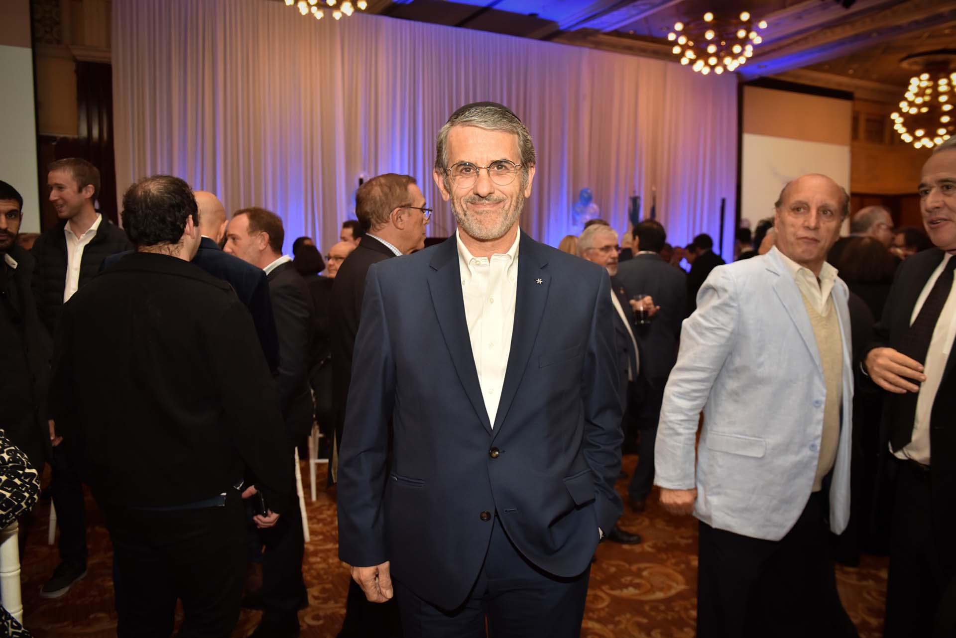Agustin Zbar, presidente de la AMIA