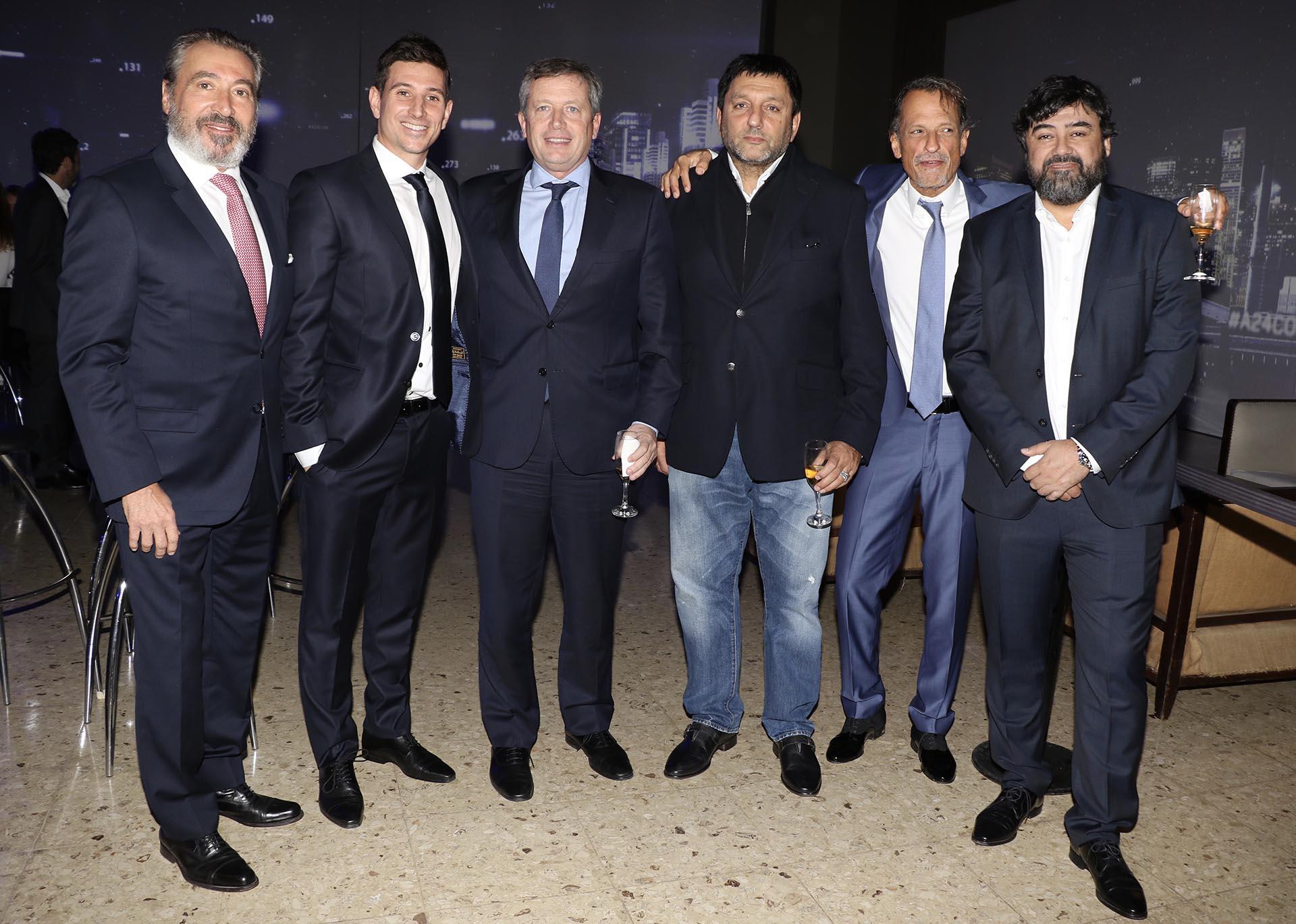 Daniel Vila, Agustín Vila, Emilio Monzó, Gabriel Hochbaum, Claudio Belocopitt y Juan Cruz Ávila