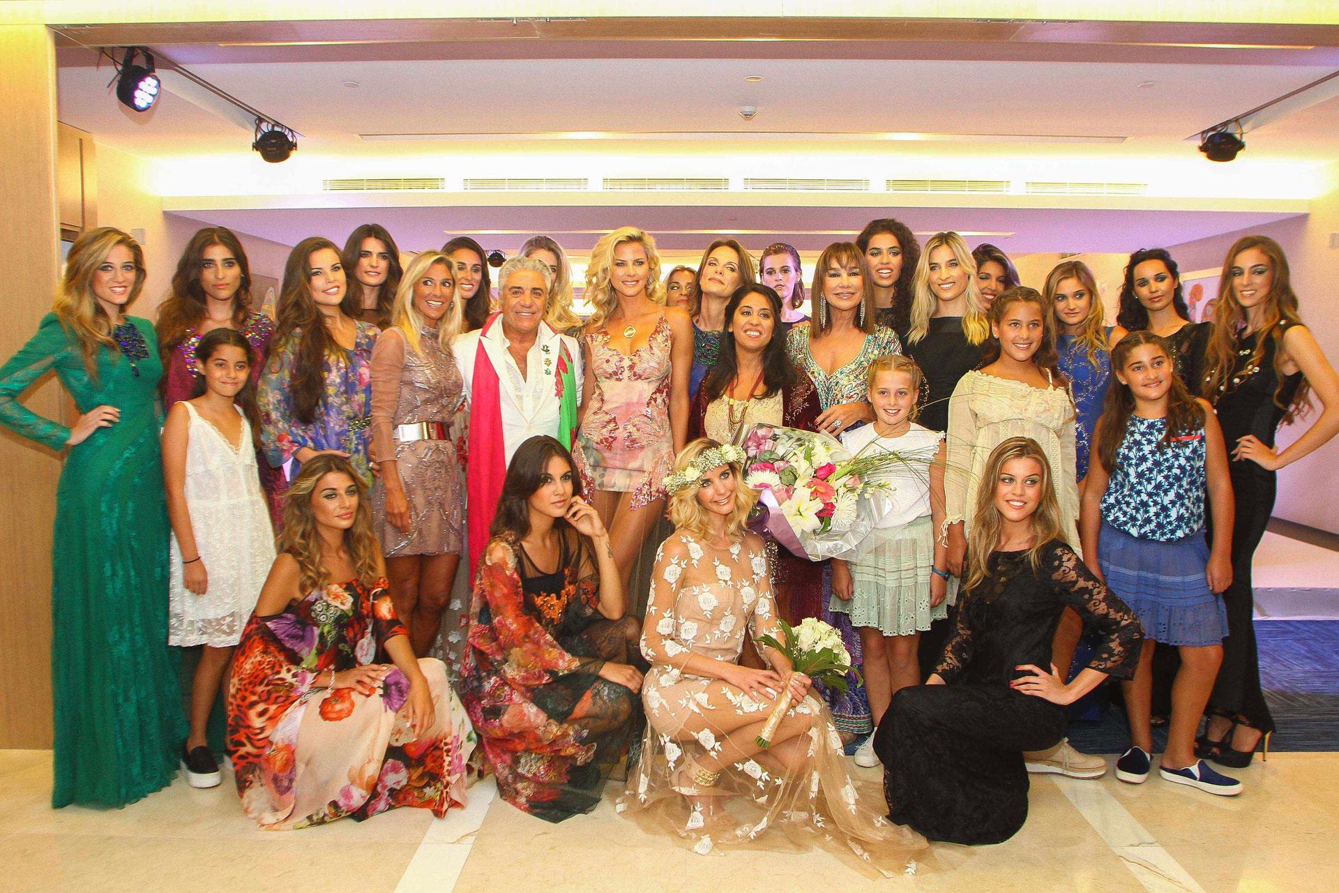 """En 2015, The Grand Hotel de Punta del Este inauguraba su espacio de moda con el desfile """"Luz del alma"""" de Carla & Stefano di Domenico"""