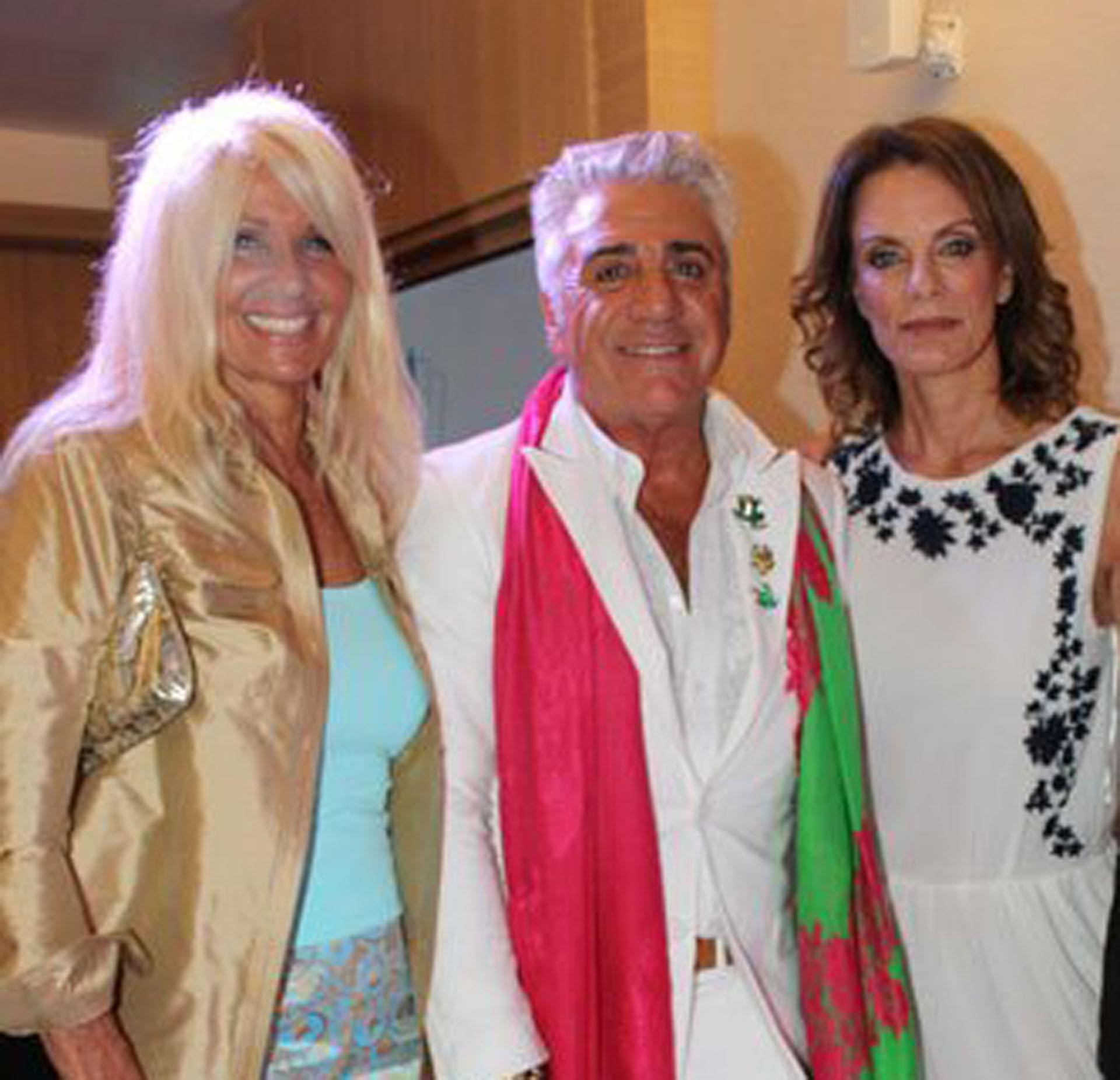 Evelyn Scheidl, Carlo Di Domenico y Nequi Galotti