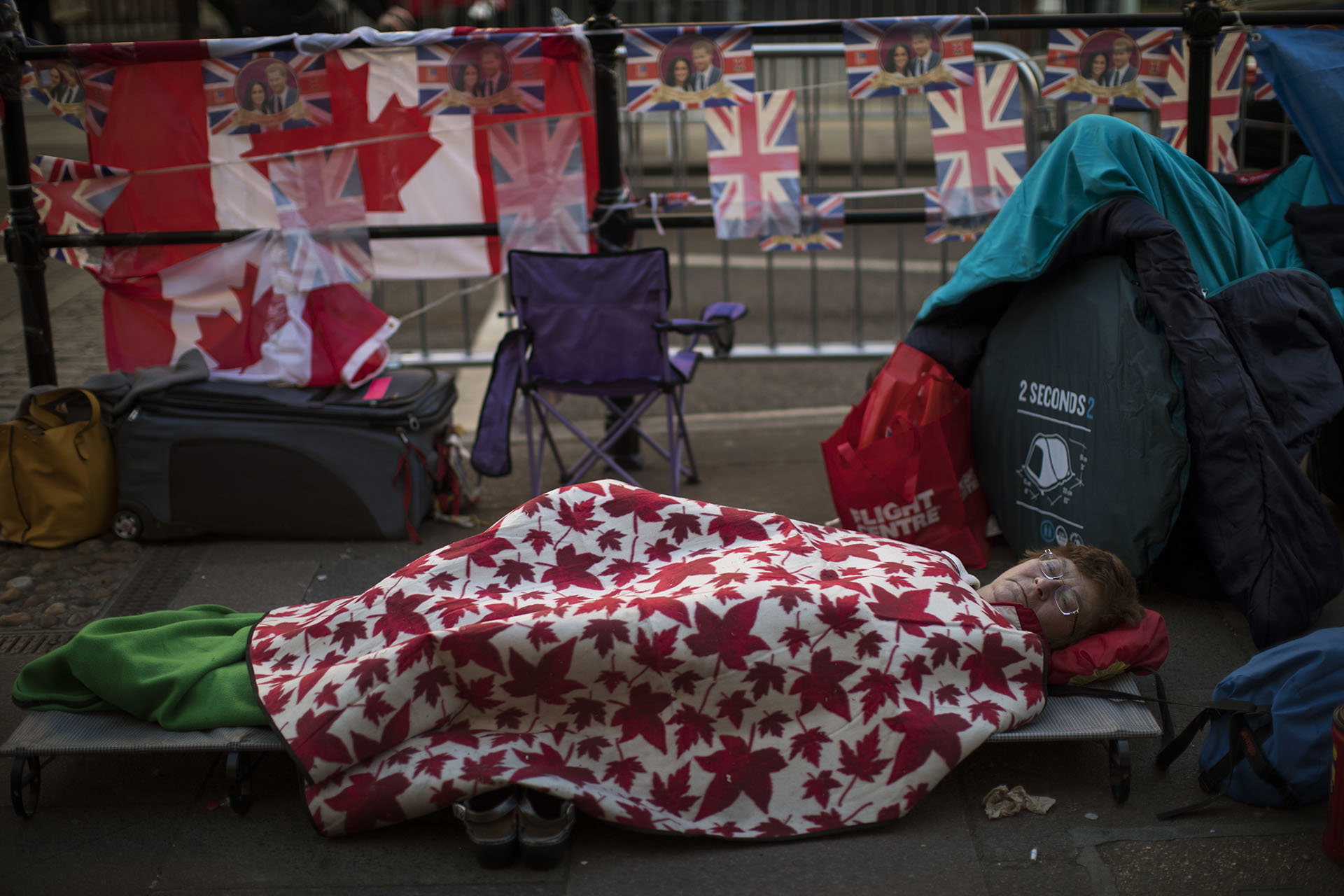 Nadie quiere perderse el evento, y los fanáticos ya están acampando
