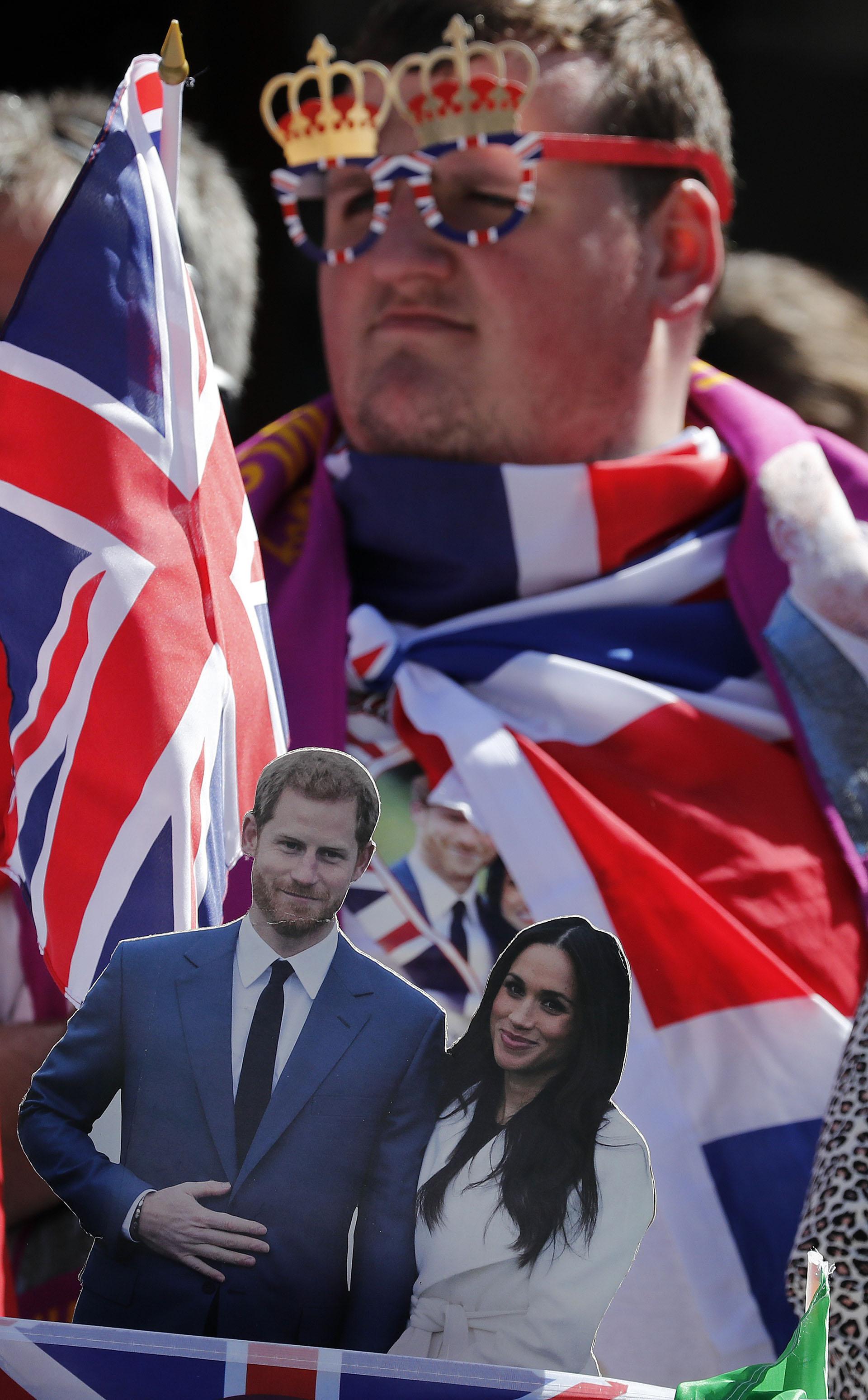 La fiebre de la boda real se apoderó de las calles