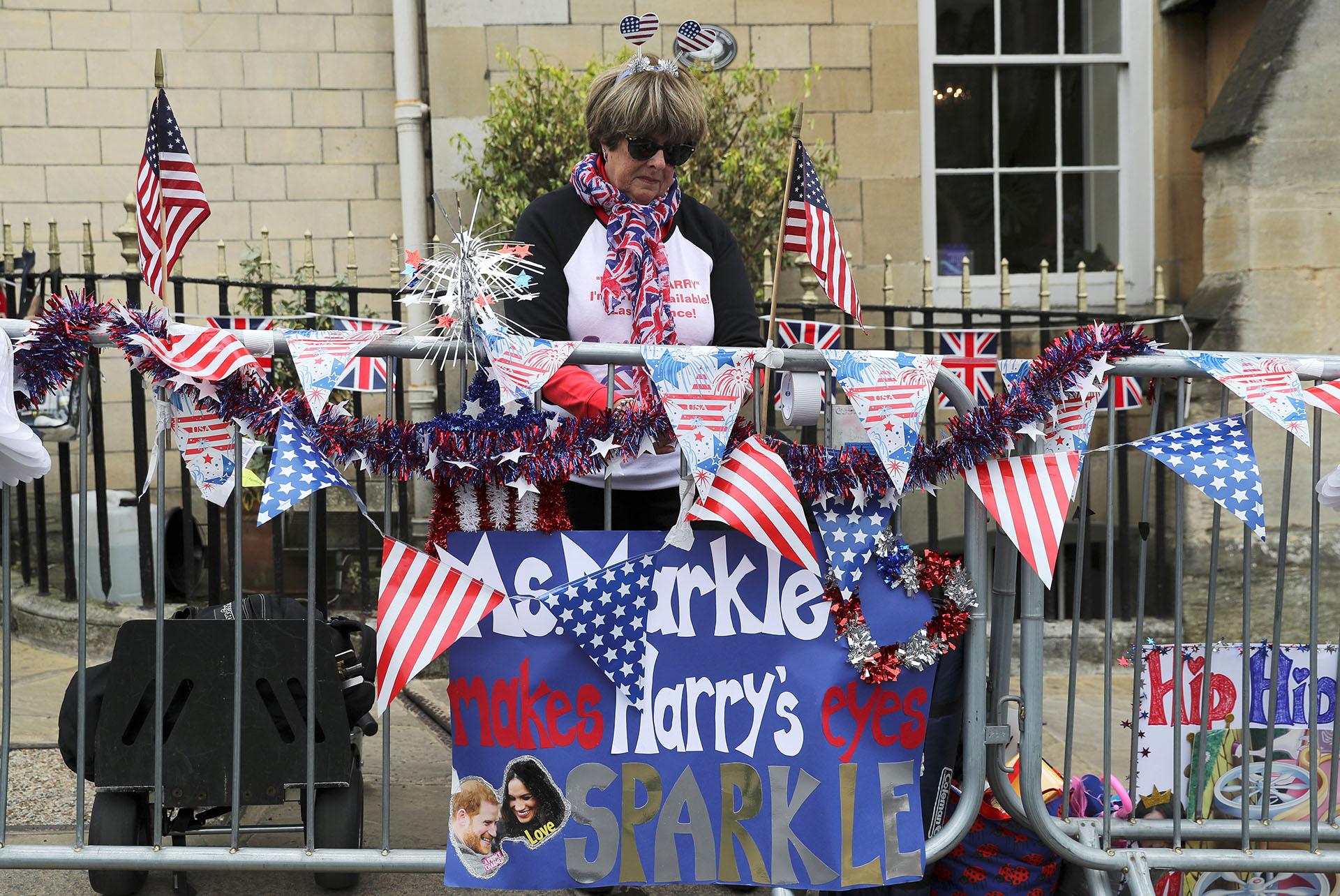 Los fanáticos aguardan ansiosos el enlace entre Meghan Markle y Harry