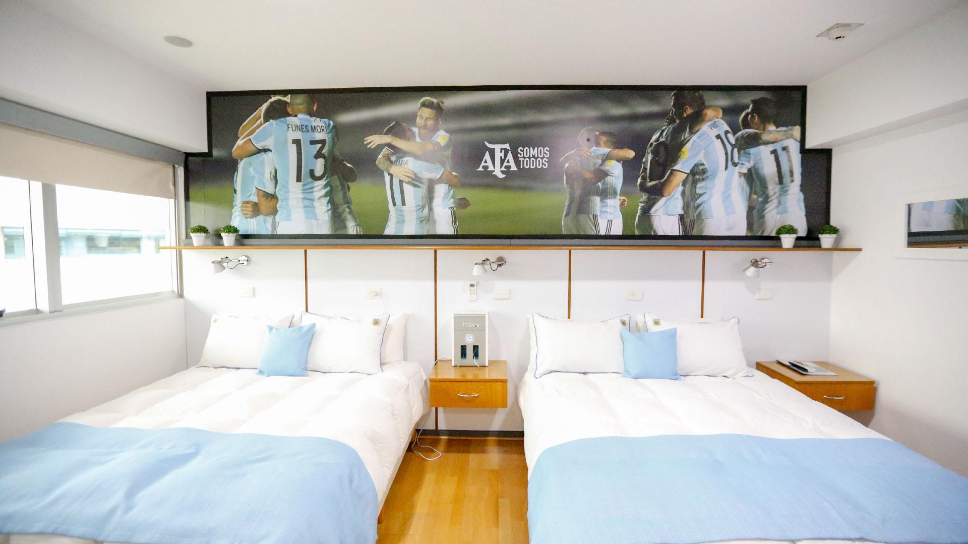Cada habitación cuenta con comodidades para dos personas