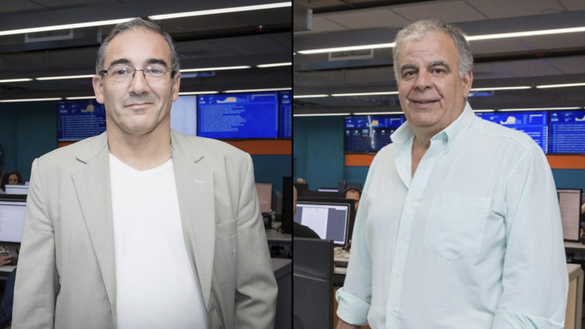 """Dos de losganadores del concurso """"Viví la noticia"""""""