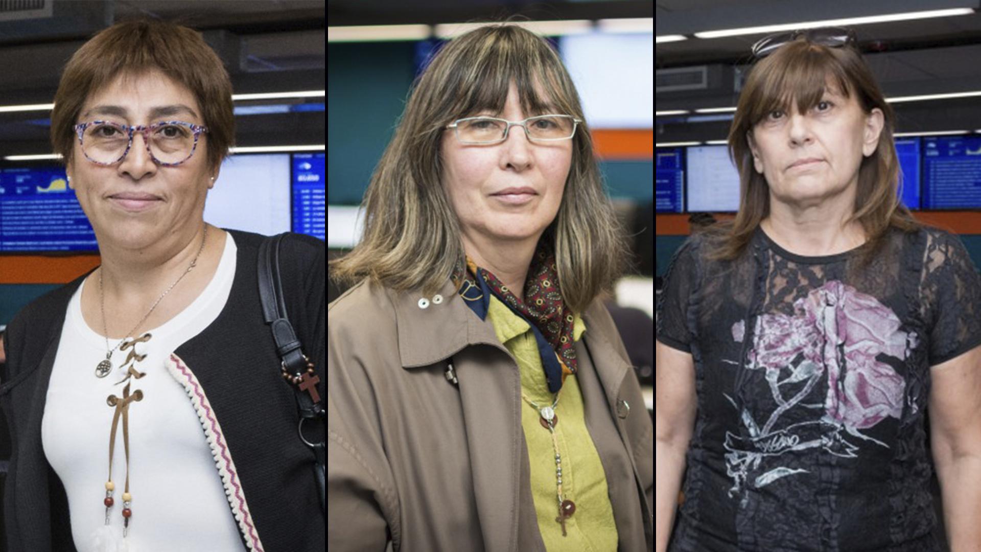 """Tres de lasganadoras del concurso """"Viví la noticia"""""""