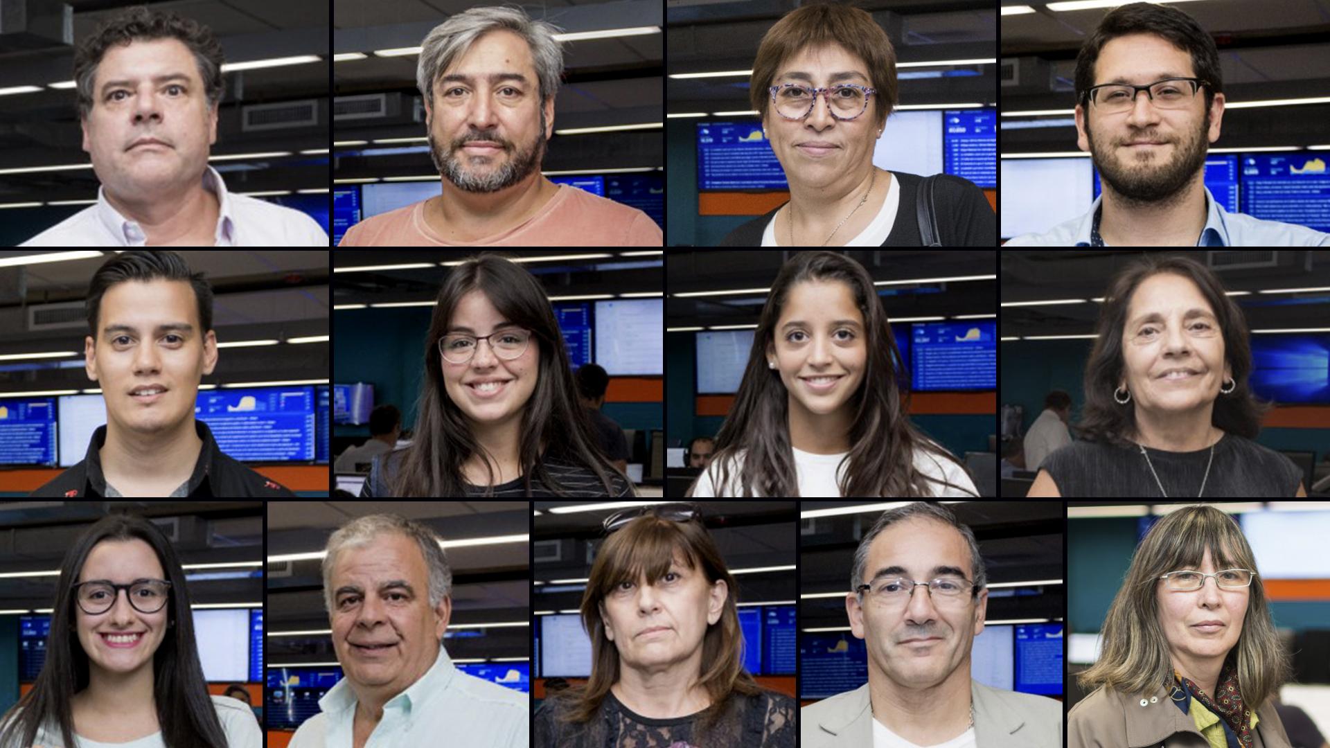 """Parte de los ganadores de """"Viví la noticia"""""""