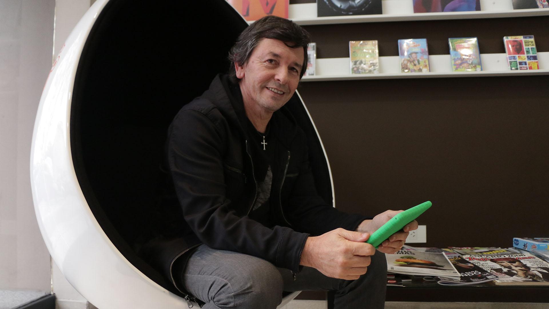 Roberto Pumar, presidente de Leader Music. (Lihue Althabe)