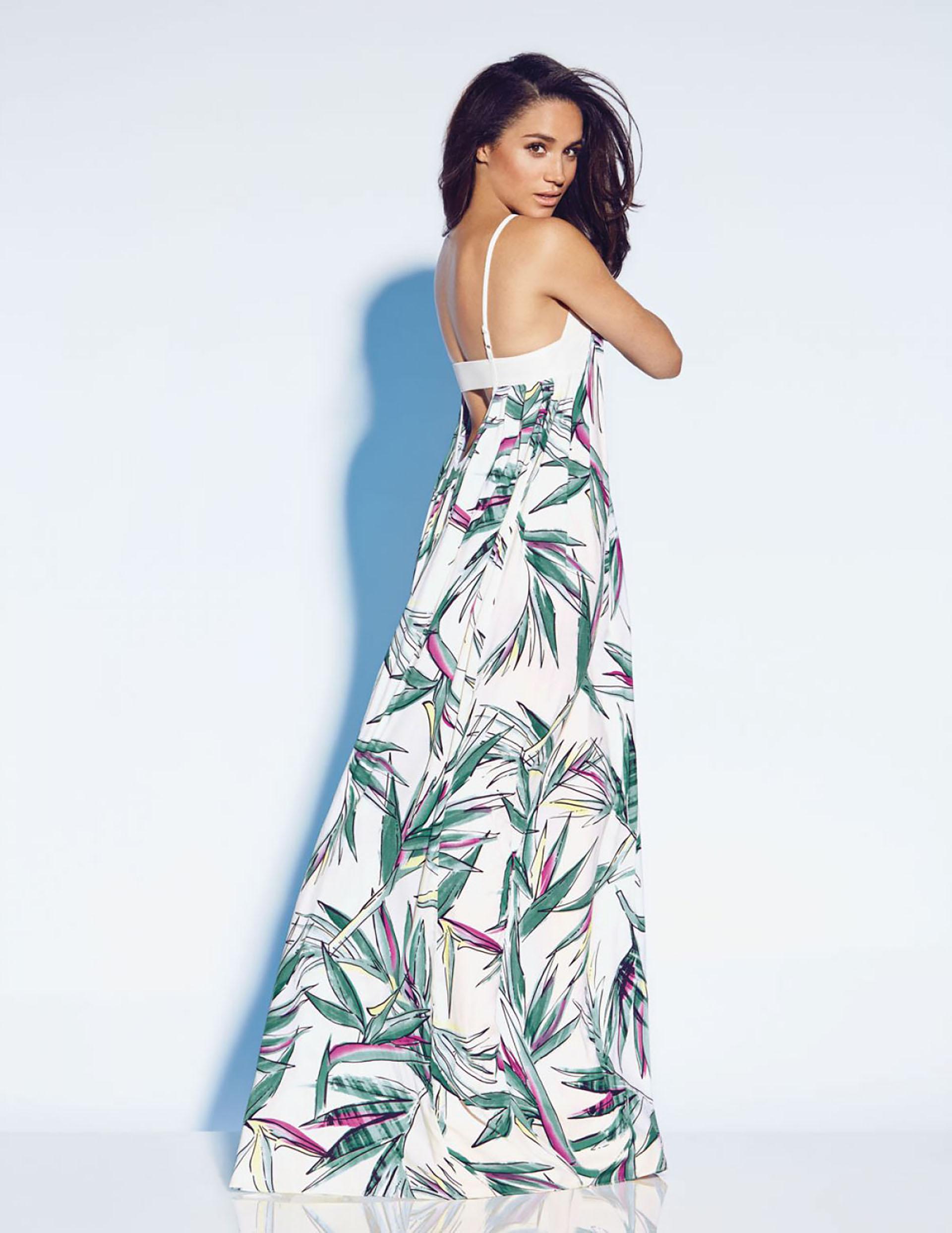 Musa de la moda, amante de los vestidos, las estampas sobrias y el cabello suelto