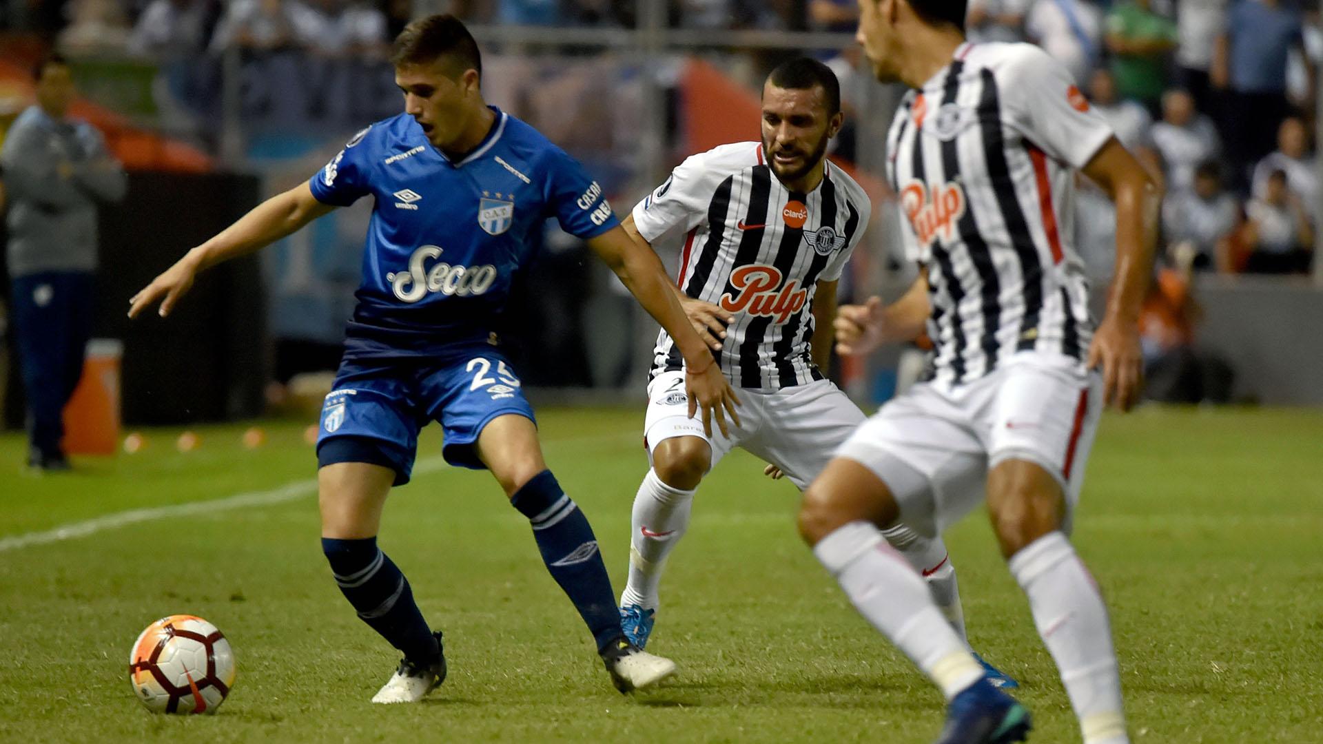 Atlético Tucumán logró una clasificación histórica en la Copa Libertadores (AFP)