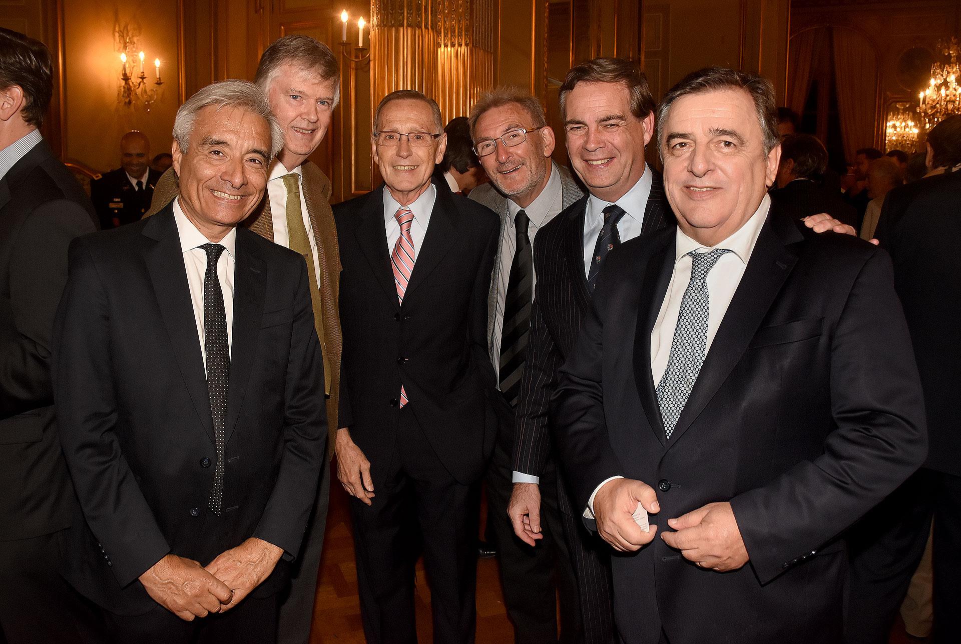 Eduardo Fidanza, Guillermo Stanley, Adalberto Rodríguez Giavarini, Guillermo Yanco, Patricio Carmody y Mario Negri