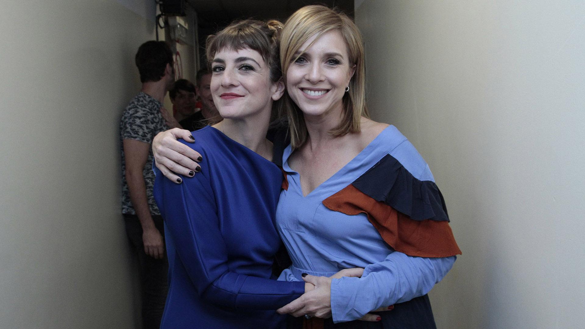 Julieta Zilberberg y Carla Peterson (C.Oppizzi)