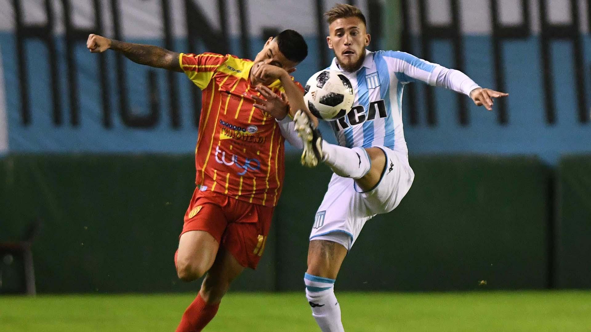 Racing viene de perder con Colón en la última fecha de la Superliga (Foto: Télam)