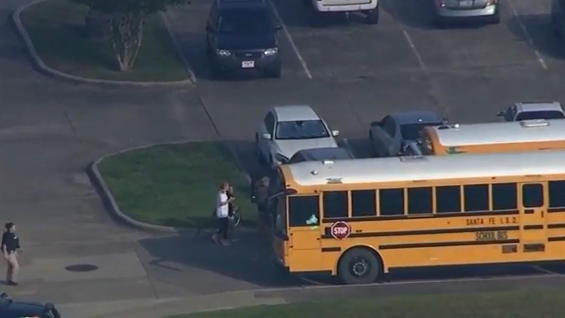 La Oficina del Sheriff del Condado de Galveston y otras agencias respondieron a la escena de forma inmediata