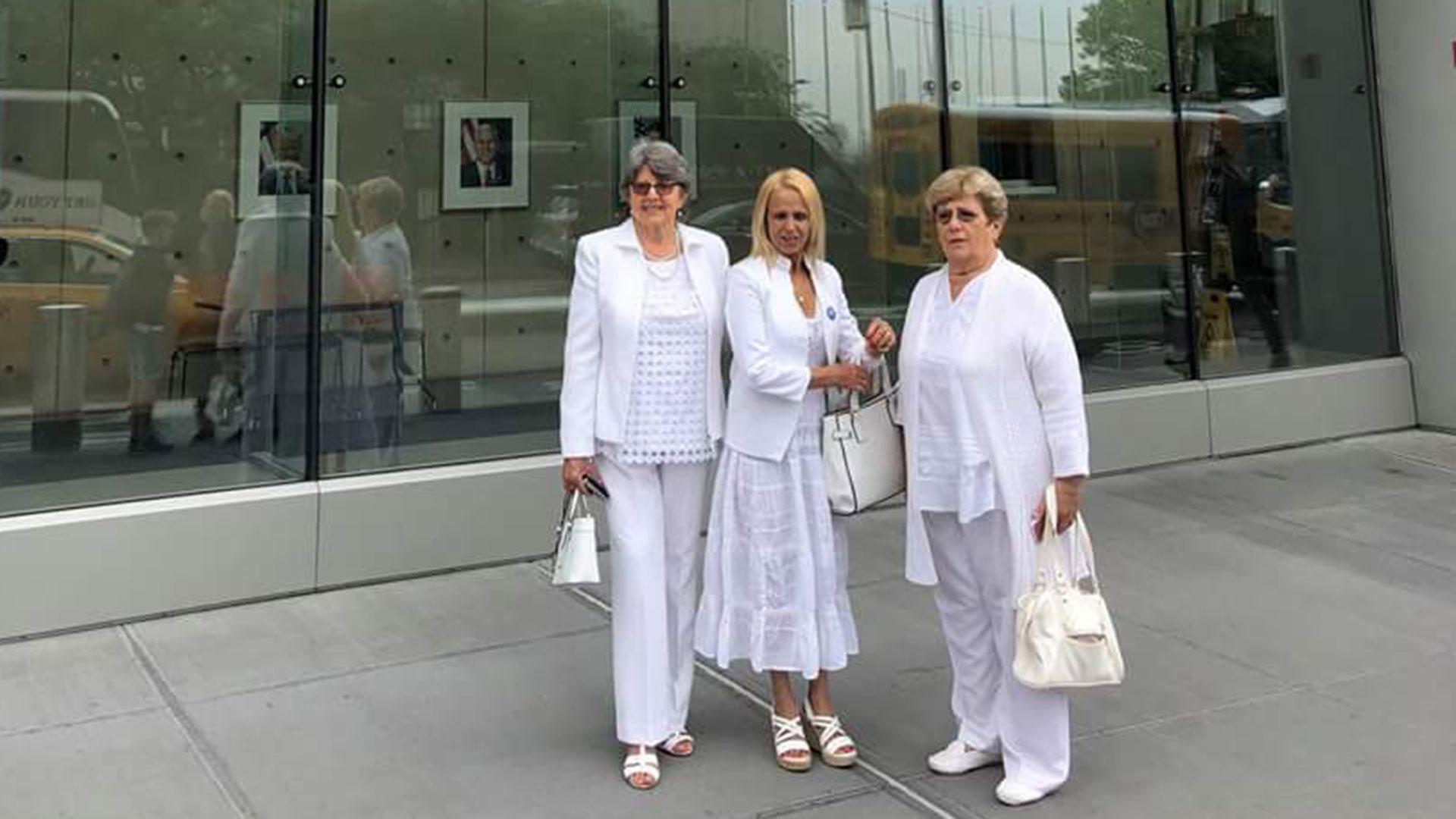 Las Damas de Blanco recibieron el jueves el Premio Milton Friedman por la Libertad 2018