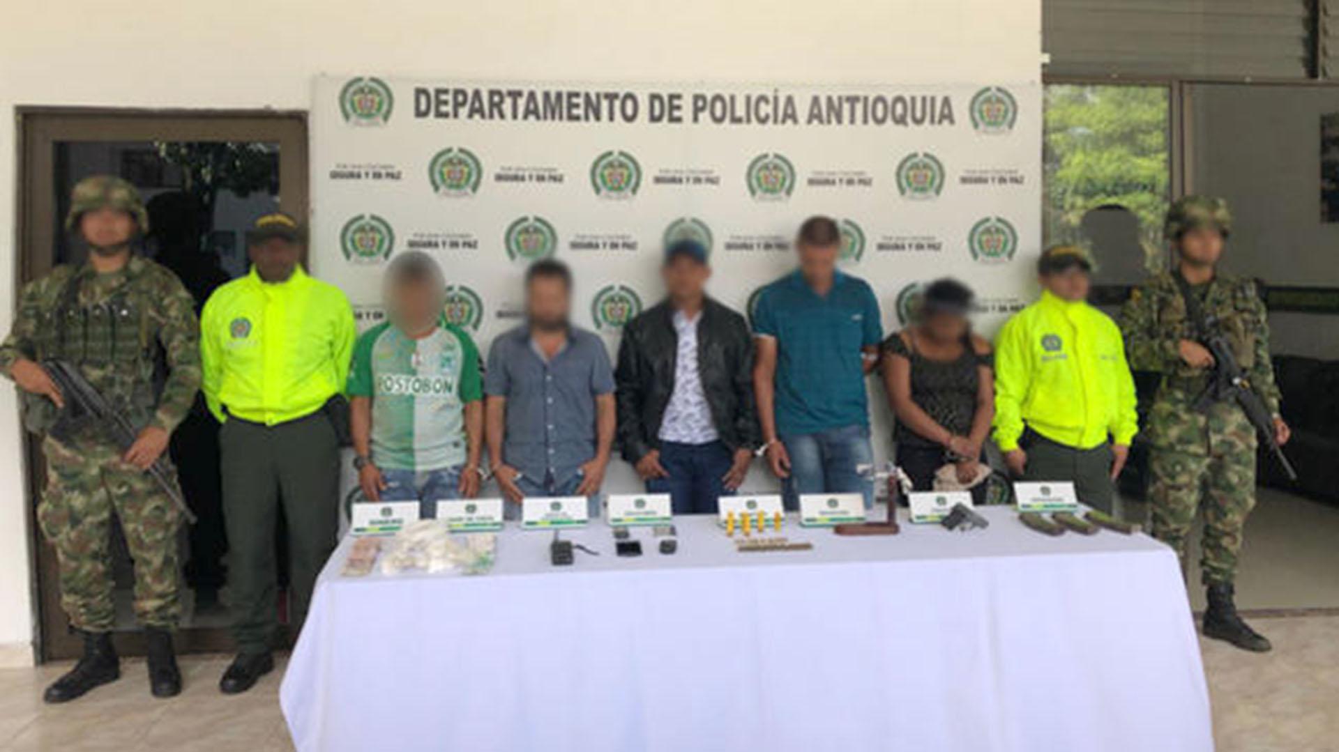 Integrantes del ELN capturados por atentado terrorista que dejó dos policías muertos.