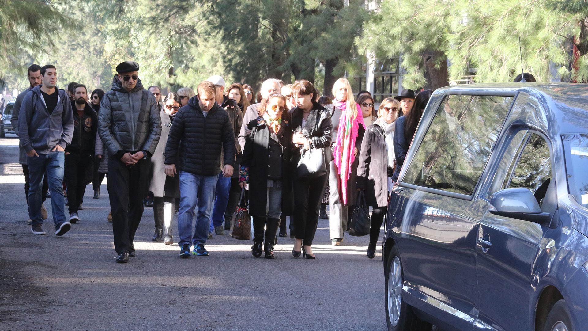 Último adiós a Carlo di Domenico (Fotos: Matías Souto)