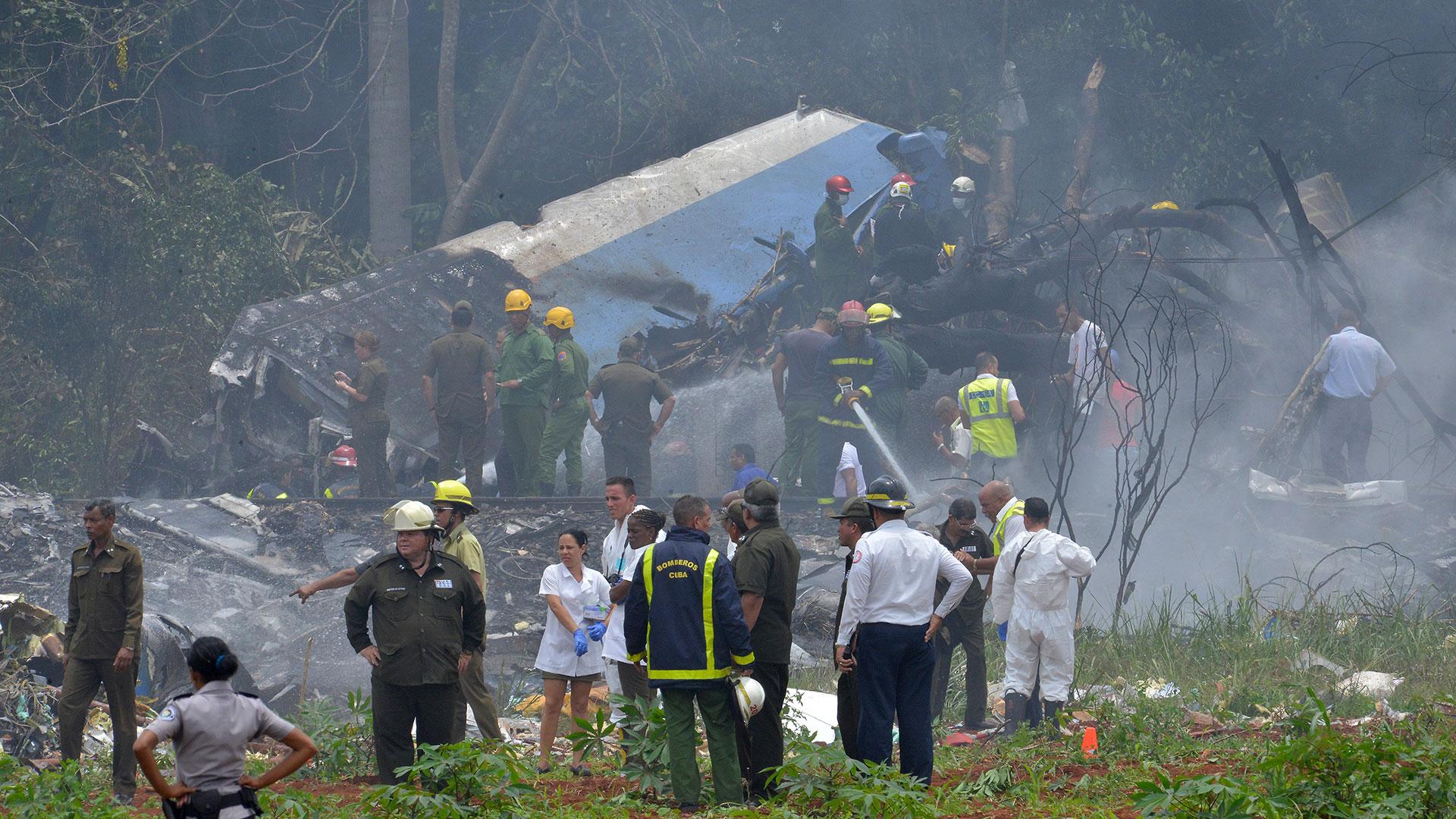 El Boeing 737-200 estrellado en Cuba pertenecía a la aerolínea mexicana Damojh (AFP)