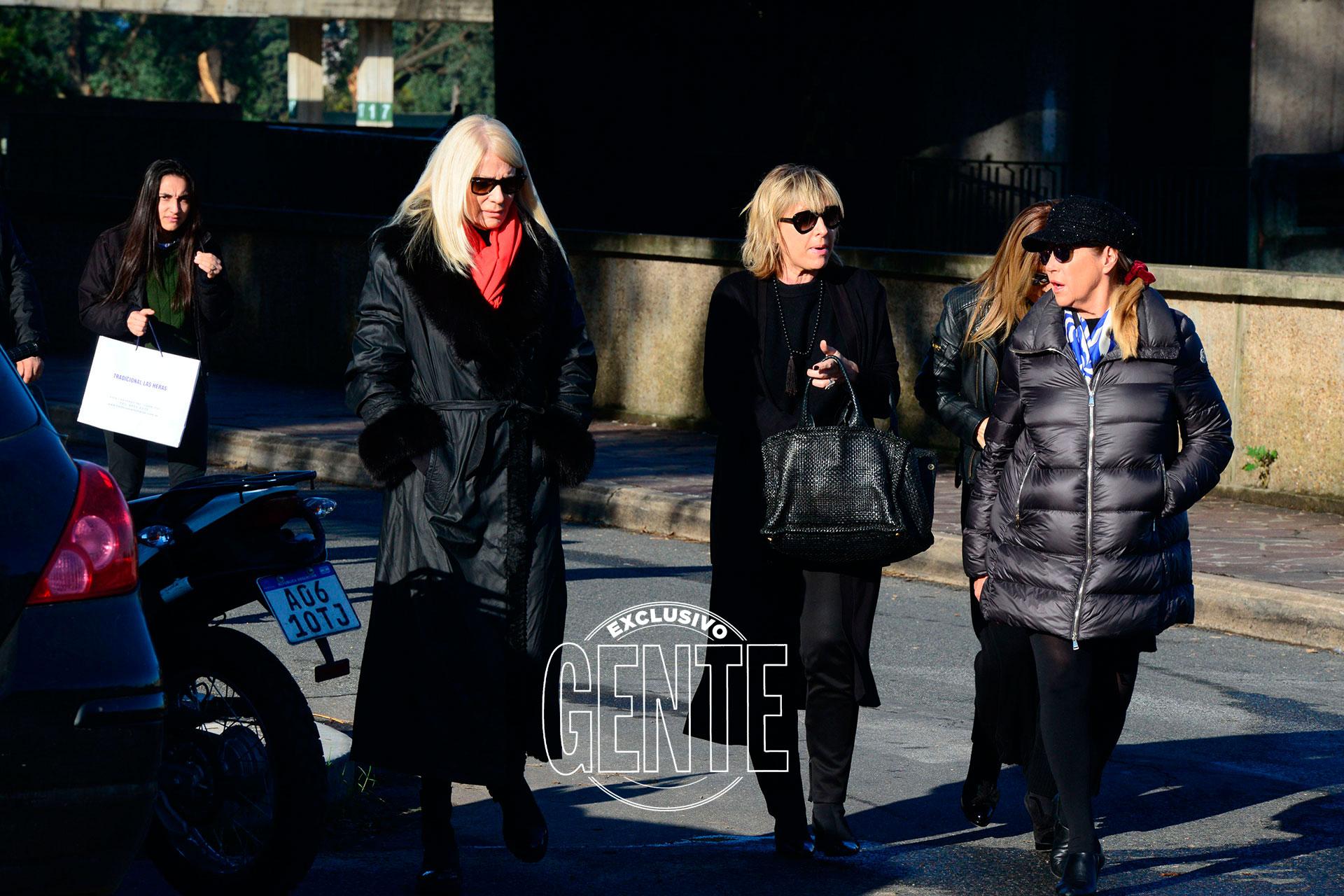 Marcela Tinayre y Evelyn Scheidl despidieron al famoso diseñador