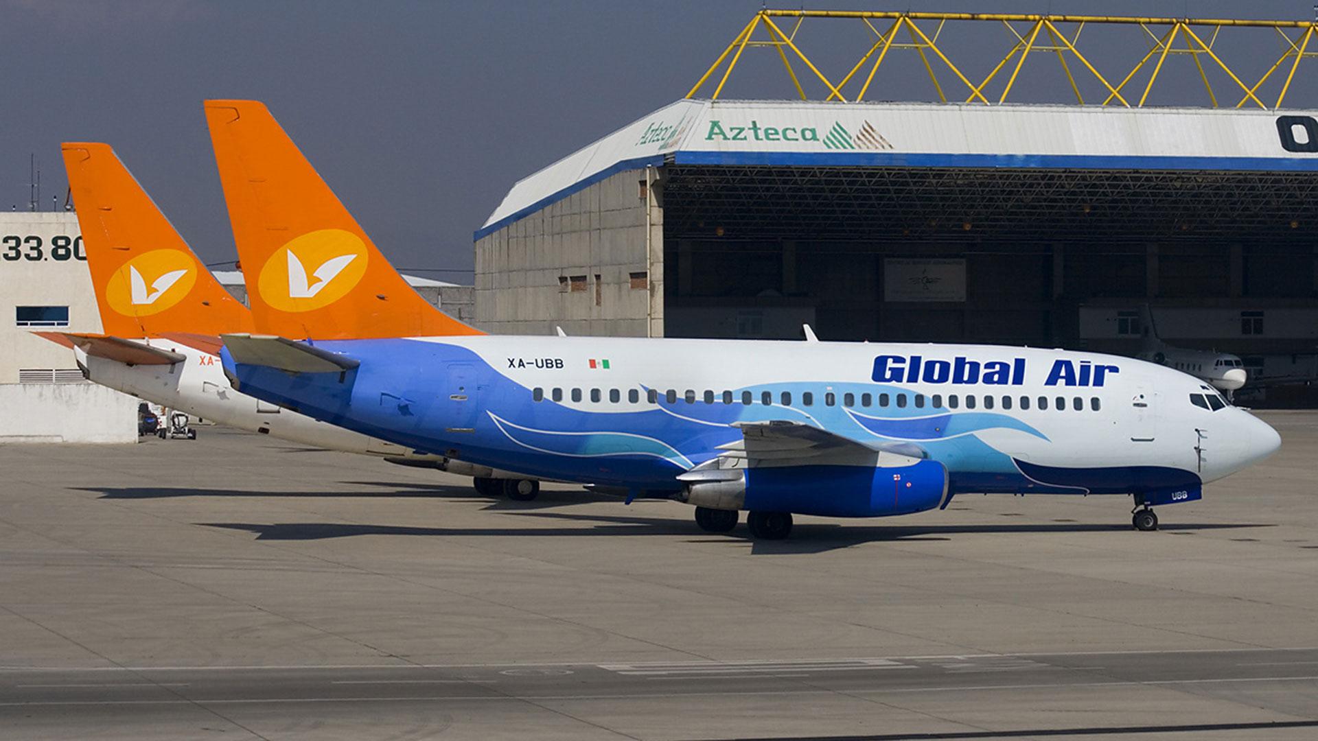 Aviones de Global Air