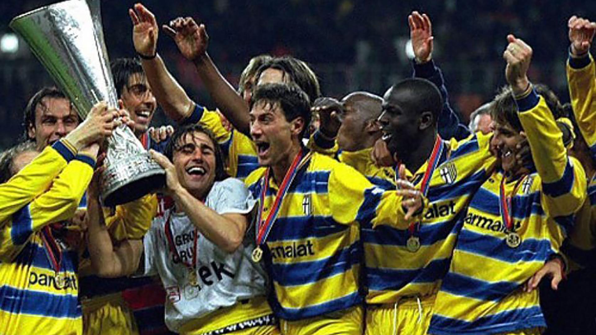 Parma fue dos veces campeón de la Copa UEFA en los '90