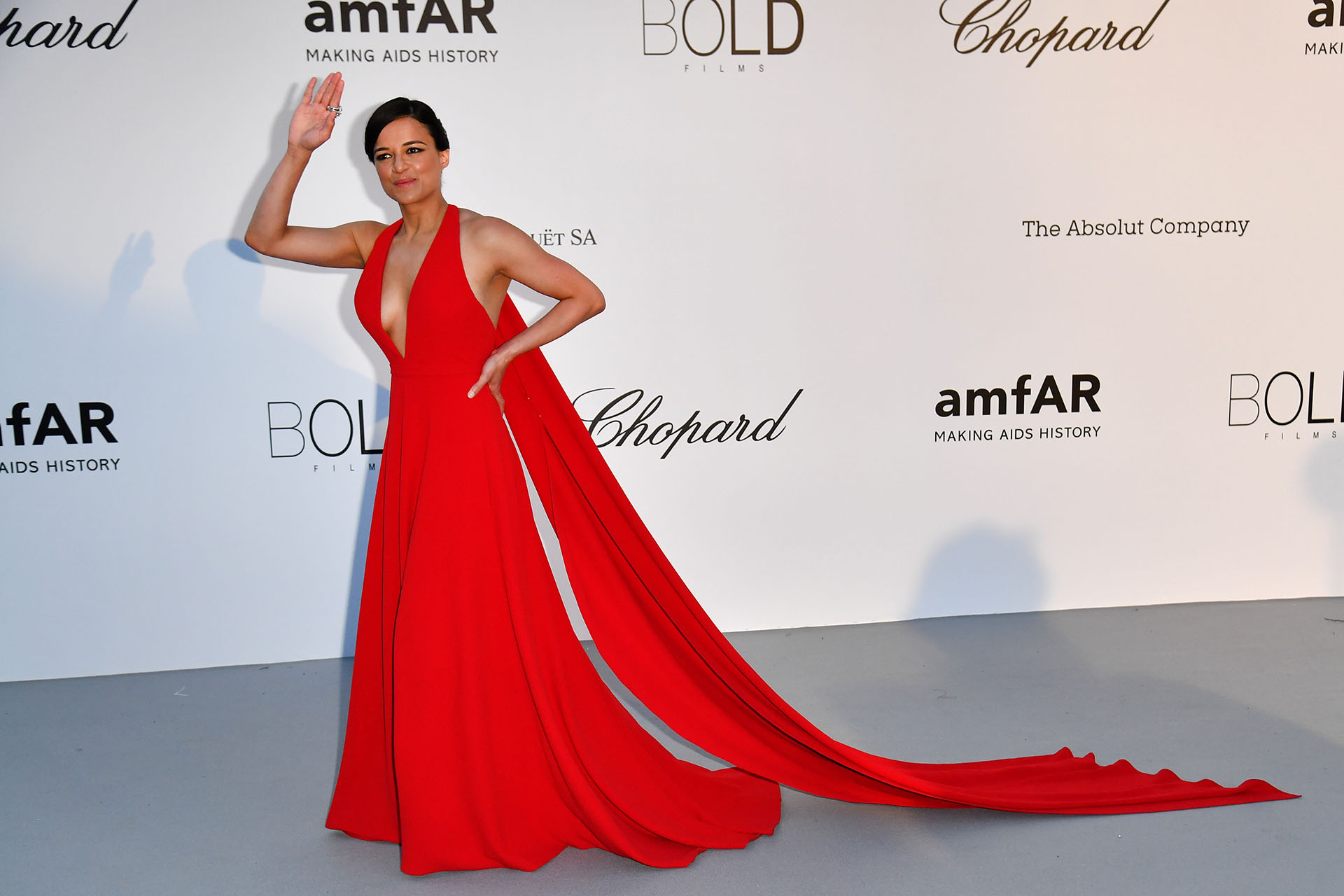 Red shocking para Michelle Rodriguez