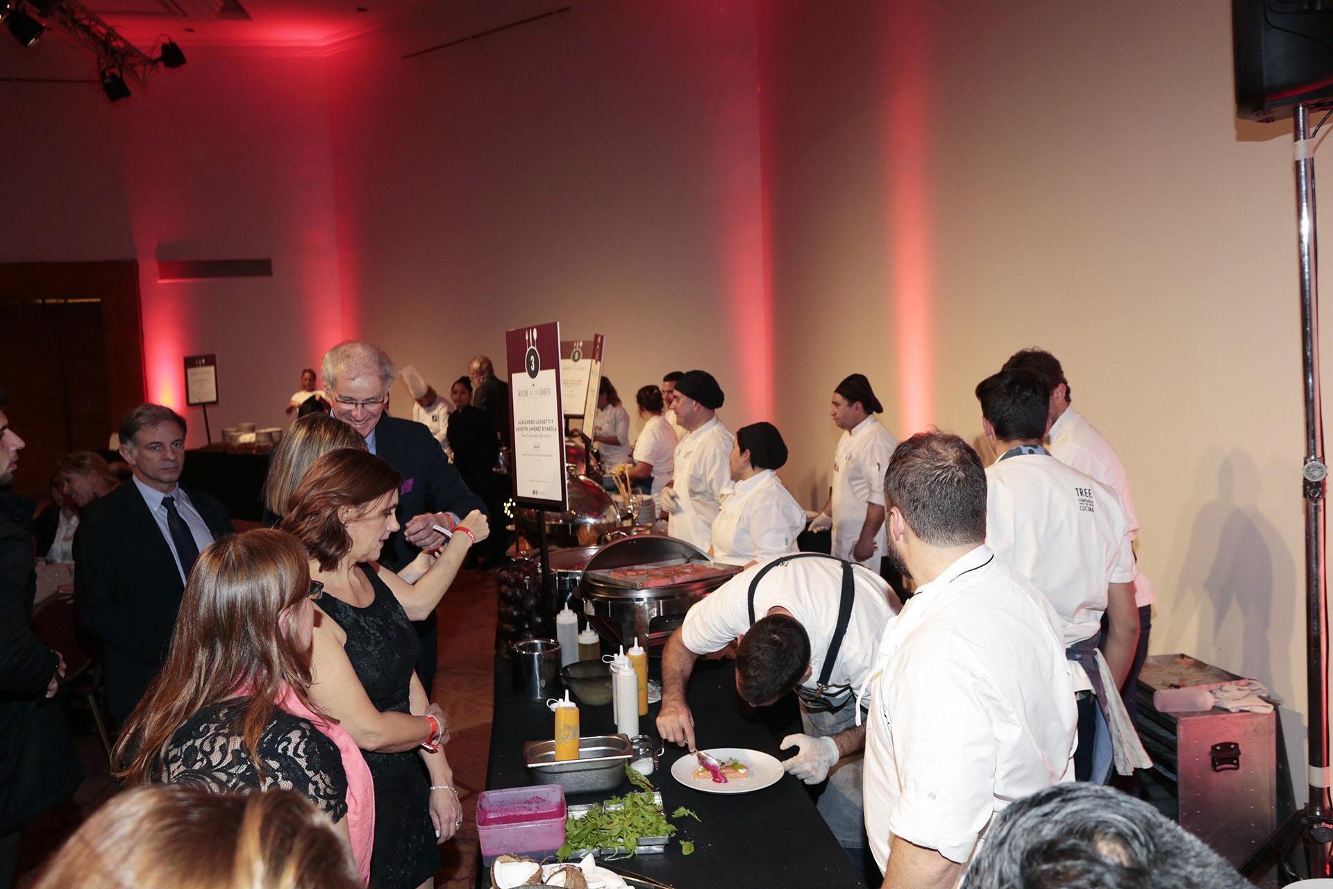 El evento congregó a los mejores chefs de la Argentina, quienes presentaron sus propuestas culinarias en su stand