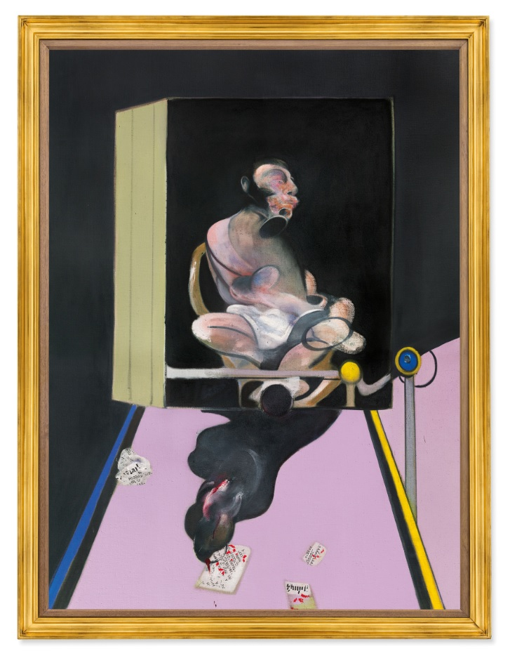Francis Bacon, Study for Portrait, 1977 (Christie's.com)