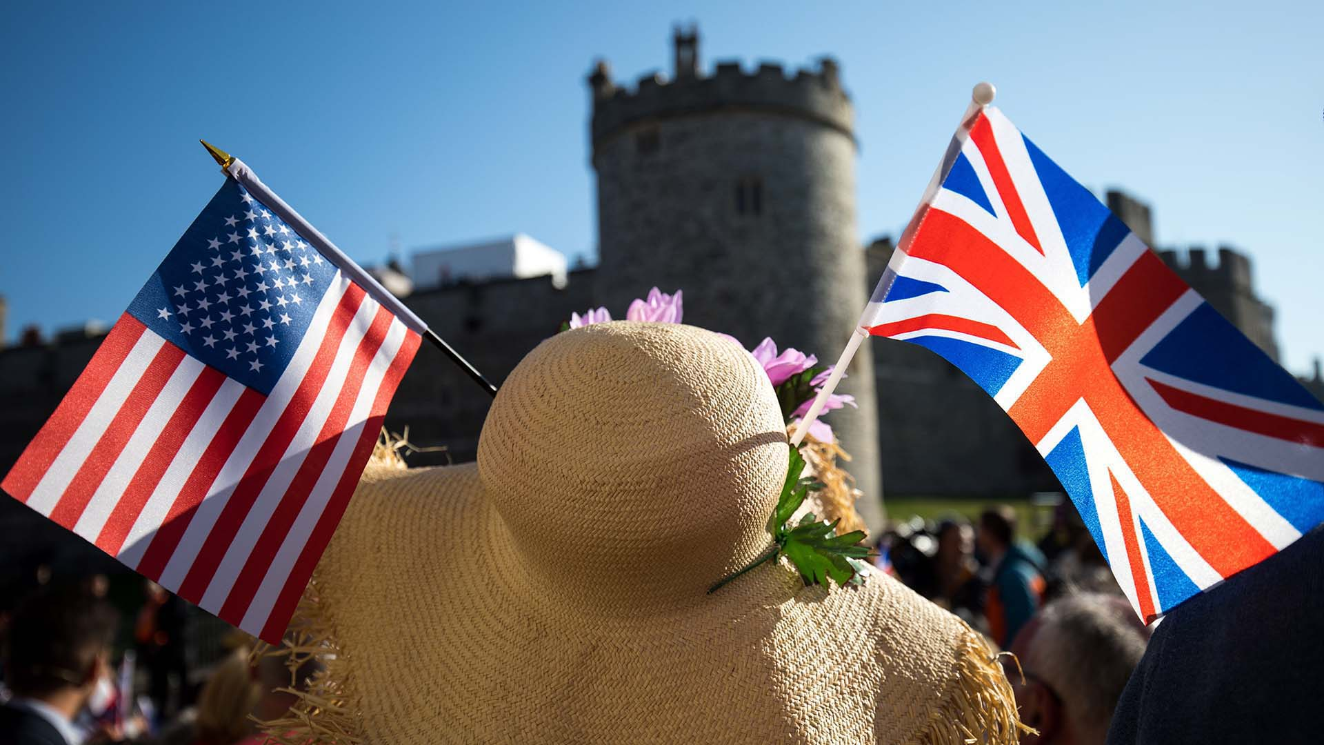 Turistas arribaron a Windsor(EFE)