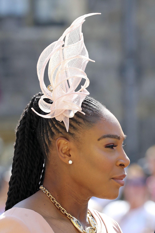 El delicado tocado de la tenista Serena William (AP)