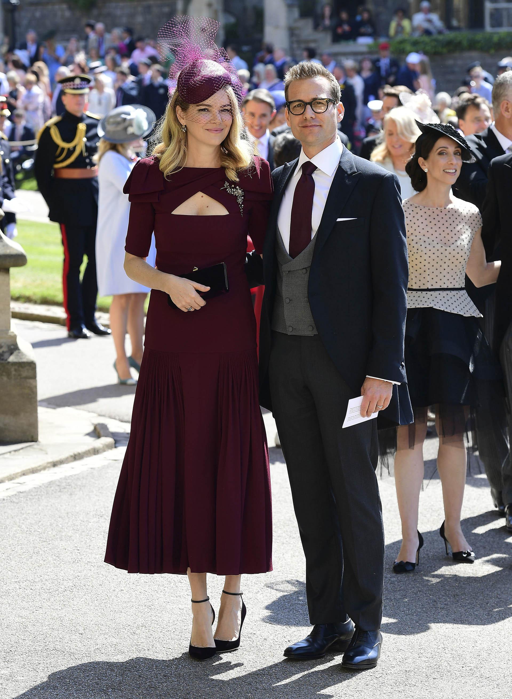 """El protagonista de """"Suits"""", Gabriel Macht, y su esposa, Jacinda (AP)"""