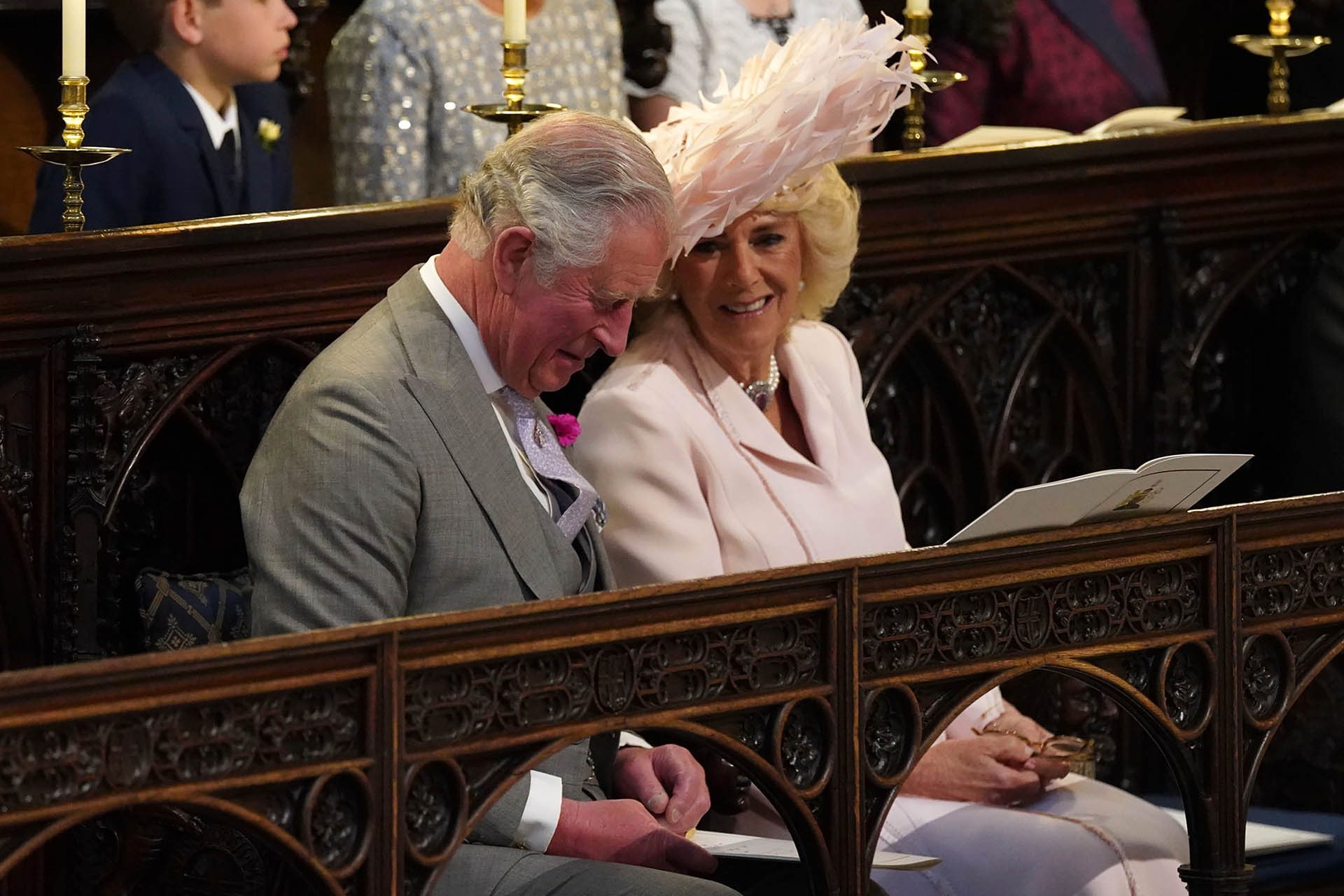 Carlos y Camila. Están casados desde 2005 y ella, además de ser Windsor, recibió el título ducal de Cornualles y los títulos de duquesa de Rothesay y de Chester (AFP)