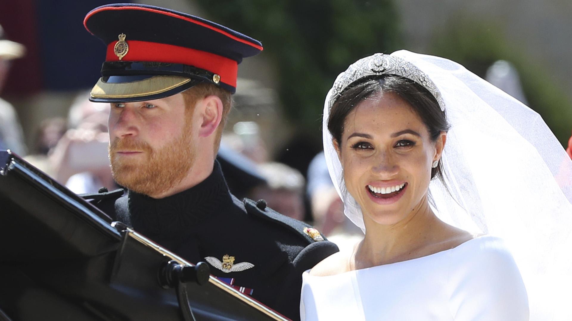Meghan dejó su carrera de actriz en Hollywood para casarse conHarry y formar parte de la familia real (Gareth Fuller/AP)