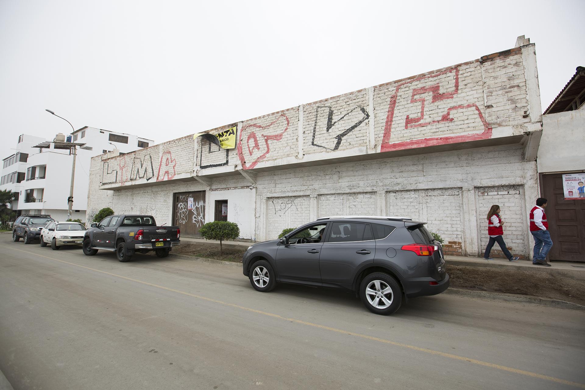 La propiedad queda a 40 kilómetros al sur de Lima