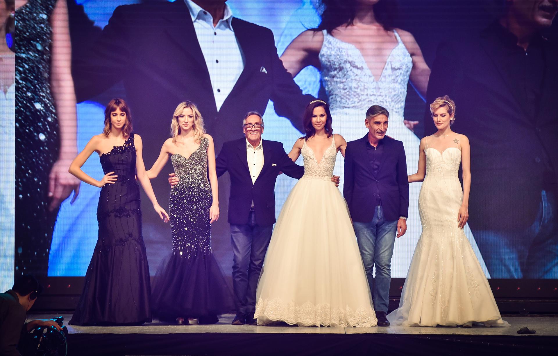Con vestidos sirena, bordados a mano y trabajos hechos para cada mujer en especial, la pasada cerró con los diseñadores de la marca que vuelven a confirmar las tendencias de la alta costura con sus diseños