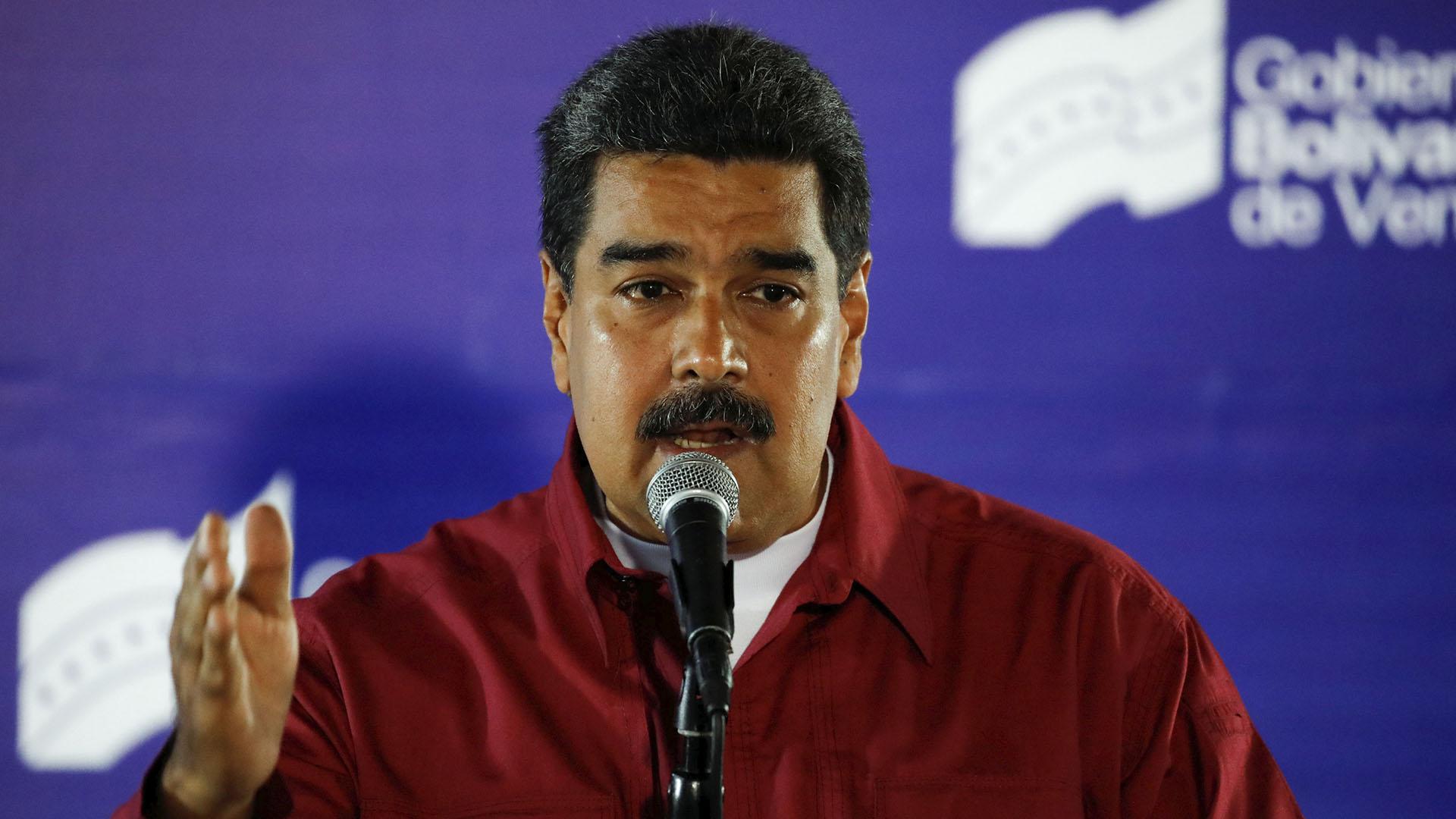 El dictador venezolano Nicolás Maduro. (Reuters)