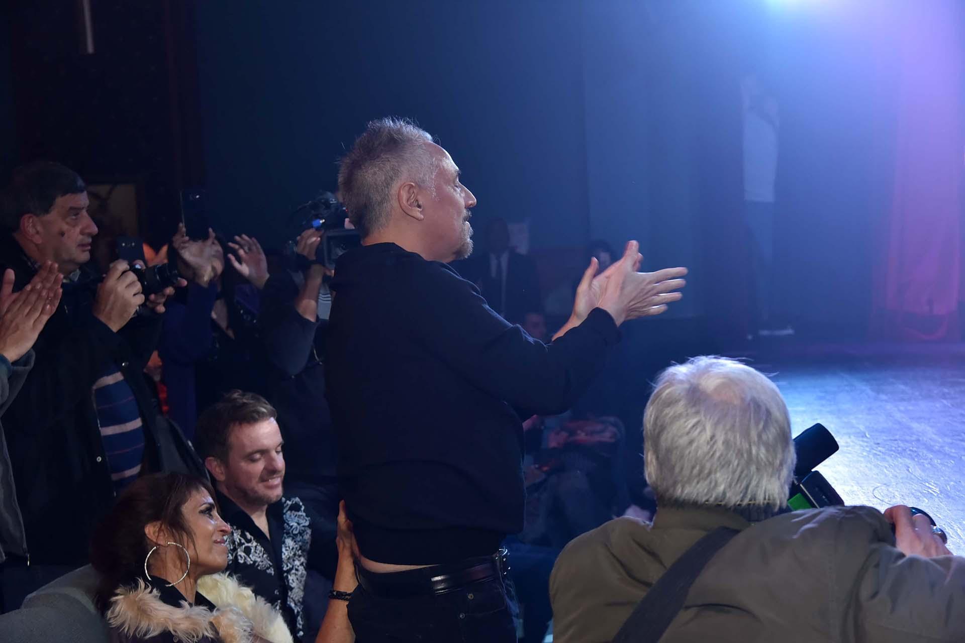 Alejandro Lerner aplaudió de pie el espectáculo