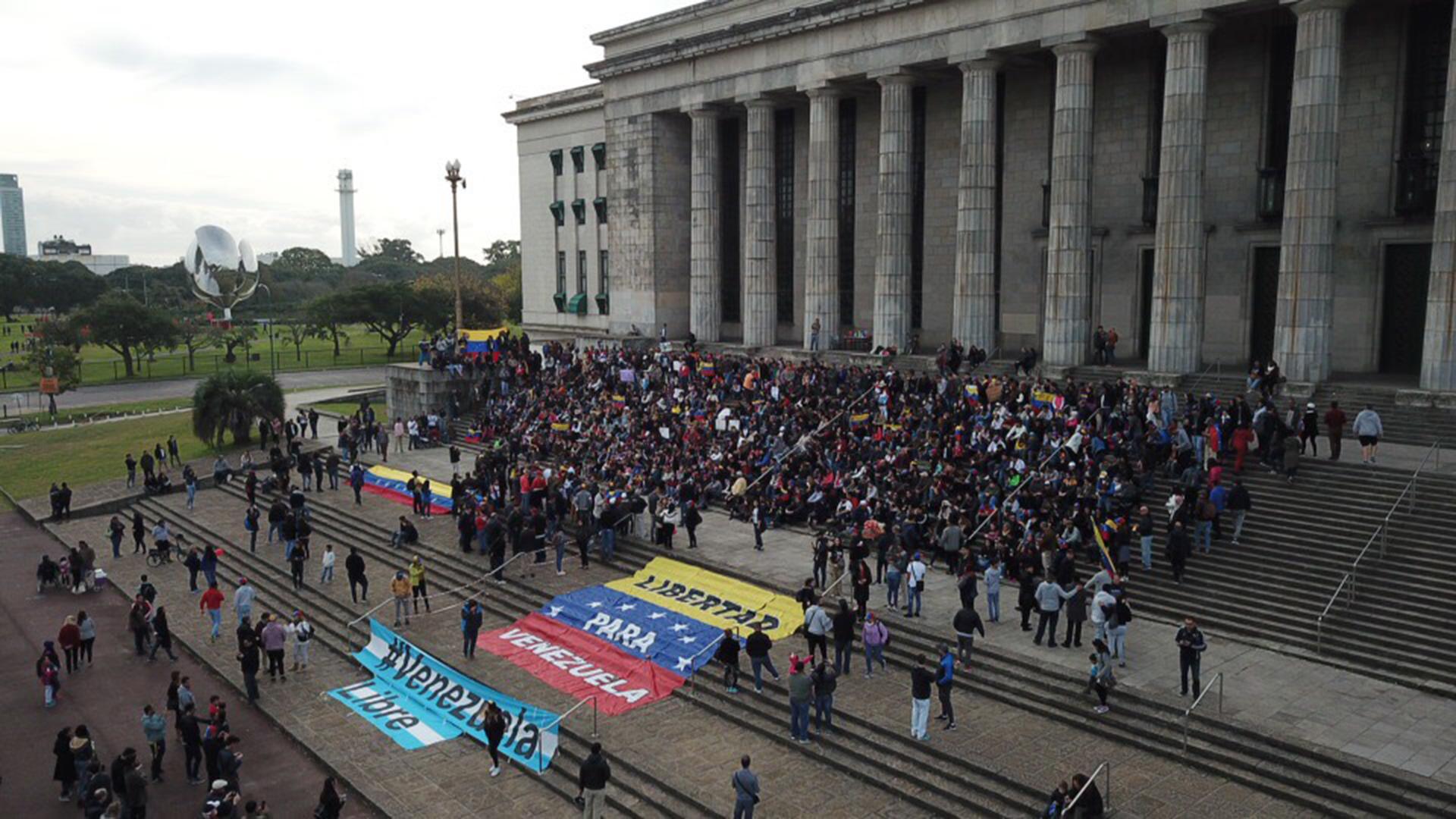 Marcha de Venezolanos en Buenos Aires