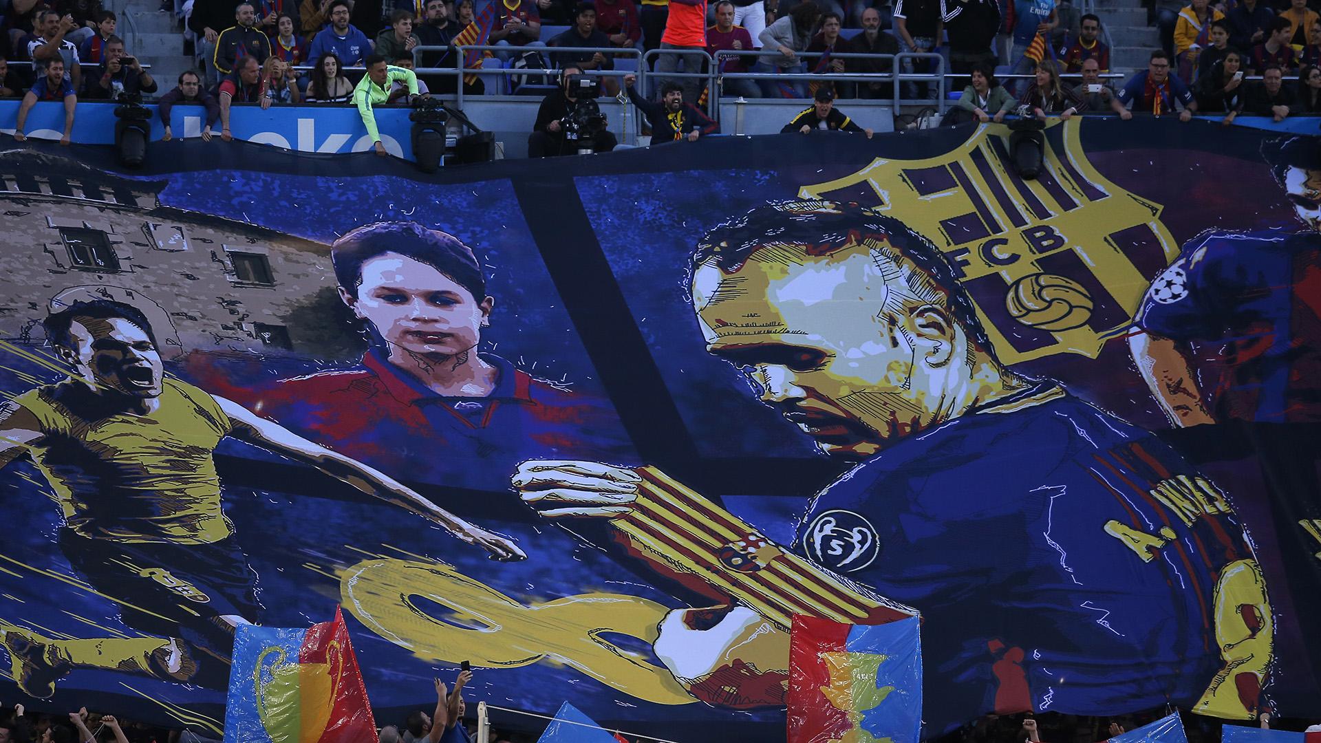 El capitán ganó 32 títulos en Barcelona