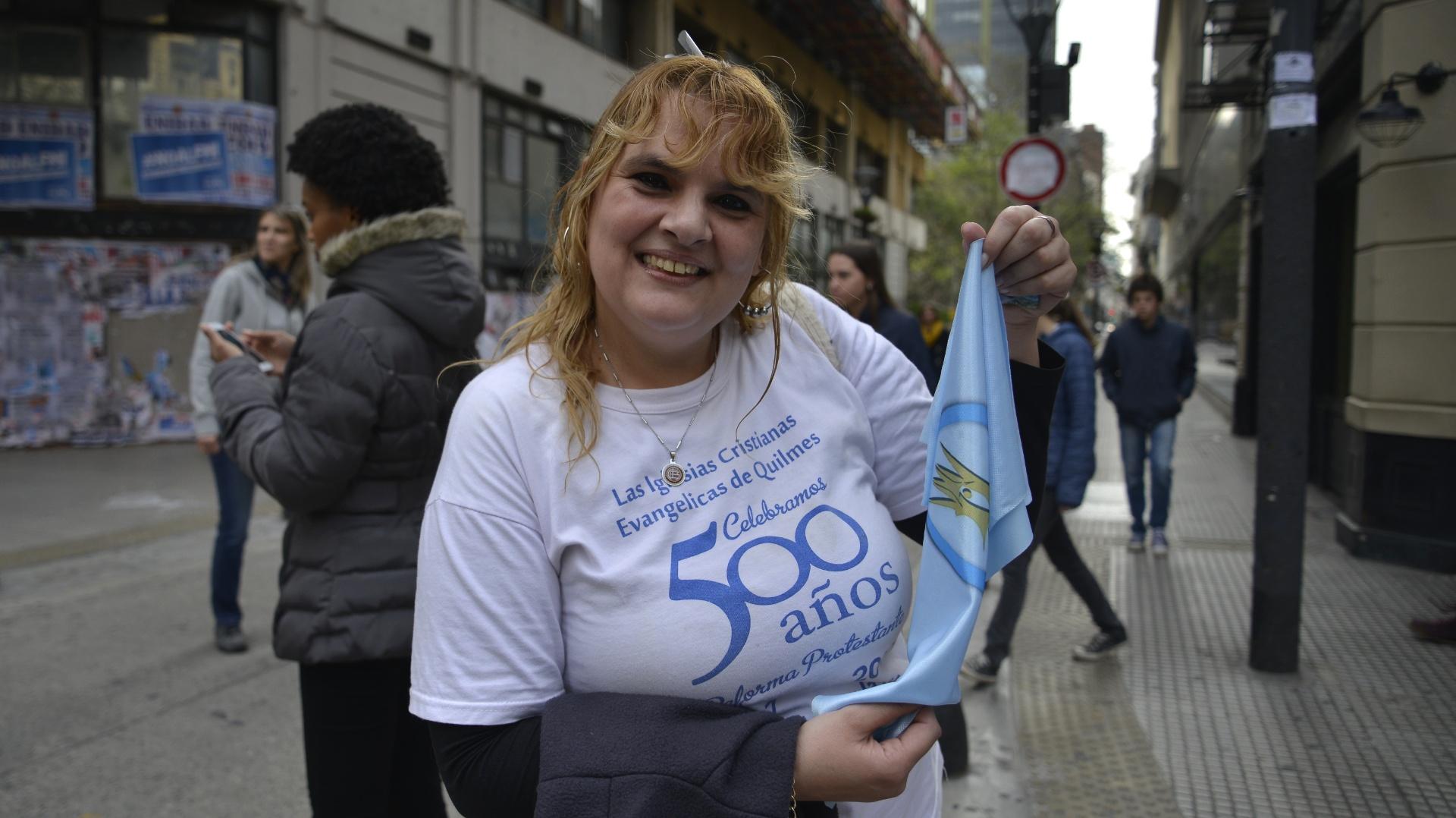 El hashtag #MarchaPorLaVida fue tendencia en Argentina durante la movilización