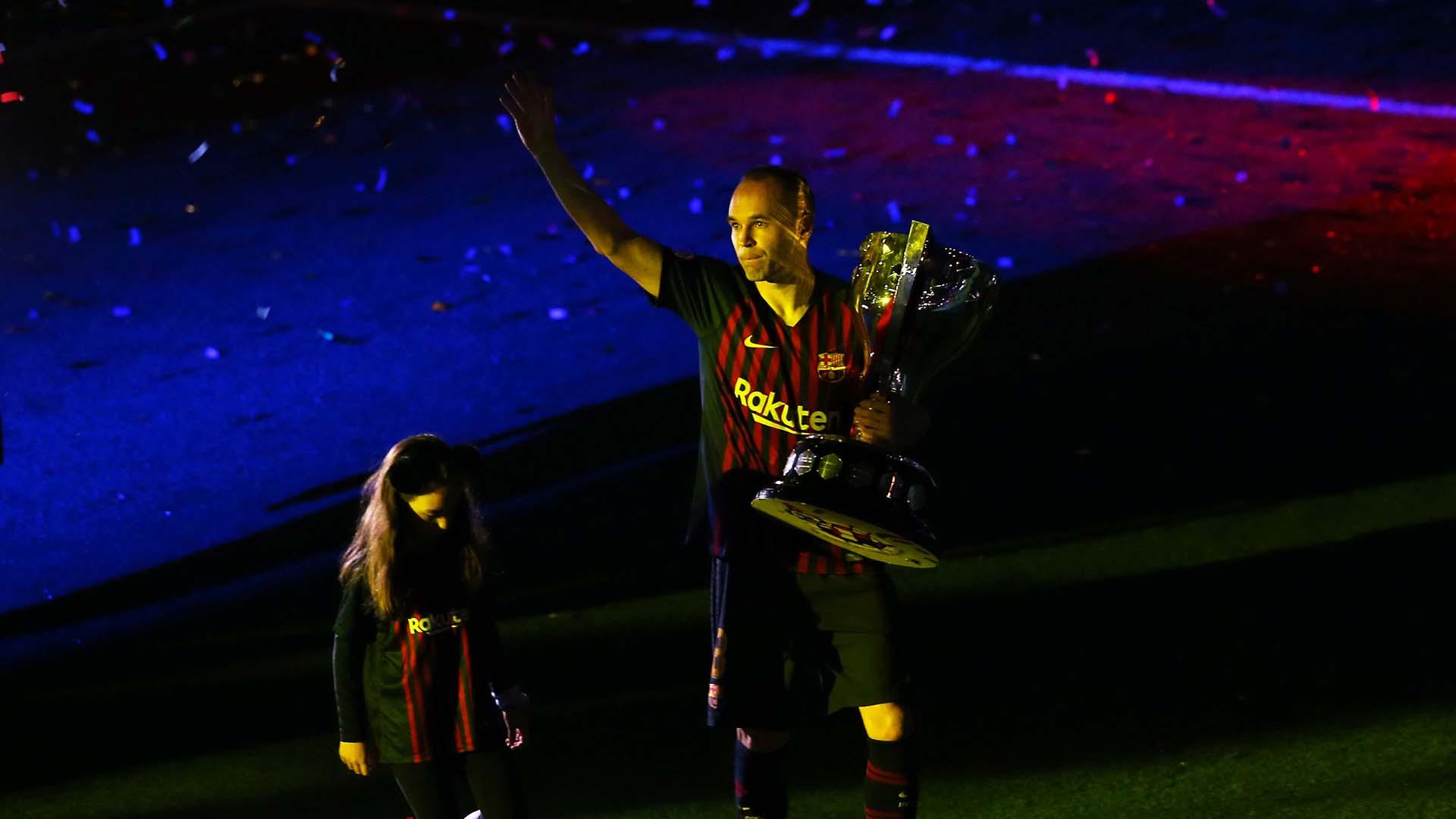 El futbolista quedará en la historia grande del Barcelona